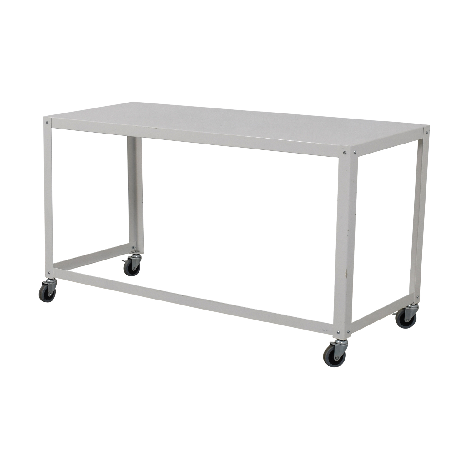 [%81% Off – Cb2 Cb2 Go Cart White Rolling Desk / Tables Intended For Well Known Go Cart White Rolling Coffee Tables|Go Cart White Rolling Coffee Tables Intended For Latest 81% Off – Cb2 Cb2 Go Cart White Rolling Desk / Tables|Well Known Go Cart White Rolling Coffee Tables Regarding 81% Off – Cb2 Cb2 Go Cart White Rolling Desk / Tables|Current 81% Off – Cb2 Cb2 Go Cart White Rolling Desk / Tables In Go Cart White Rolling Coffee Tables%] (View 4 of 20)