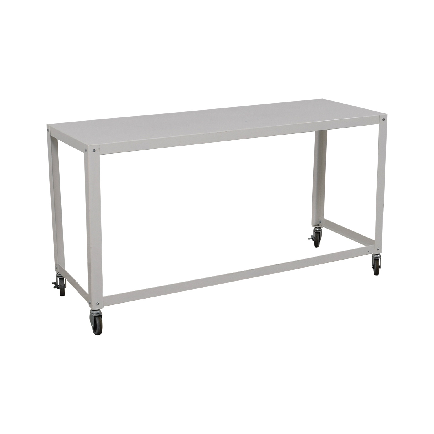 [%81% Off – Cb2 Cb2 Go Cart White Rolling Desk / Tables With Well Known Go Cart White Rolling Coffee Tables|go Cart White Rolling Coffee Tables For Famous 81% Off – Cb2 Cb2 Go Cart White Rolling Desk / Tables|most Recent Go Cart White Rolling Coffee Tables In 81% Off – Cb2 Cb2 Go Cart White Rolling Desk / Tables|best And Newest 81% Off – Cb2 Cb2 Go Cart White Rolling Desk / Tables Inside Go Cart White Rolling Coffee Tables%] (View 6 of 20)