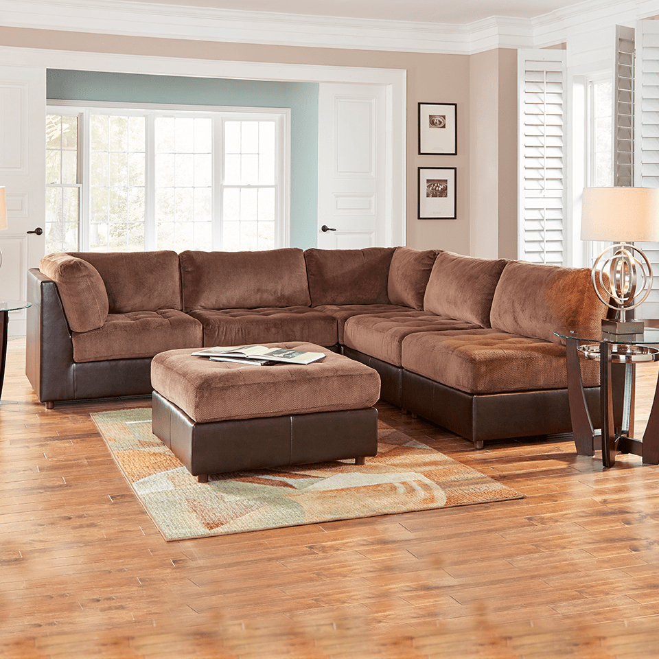 Aaron's Inside Latest Benton 4 Piece Sectionals (View 14 of 20)