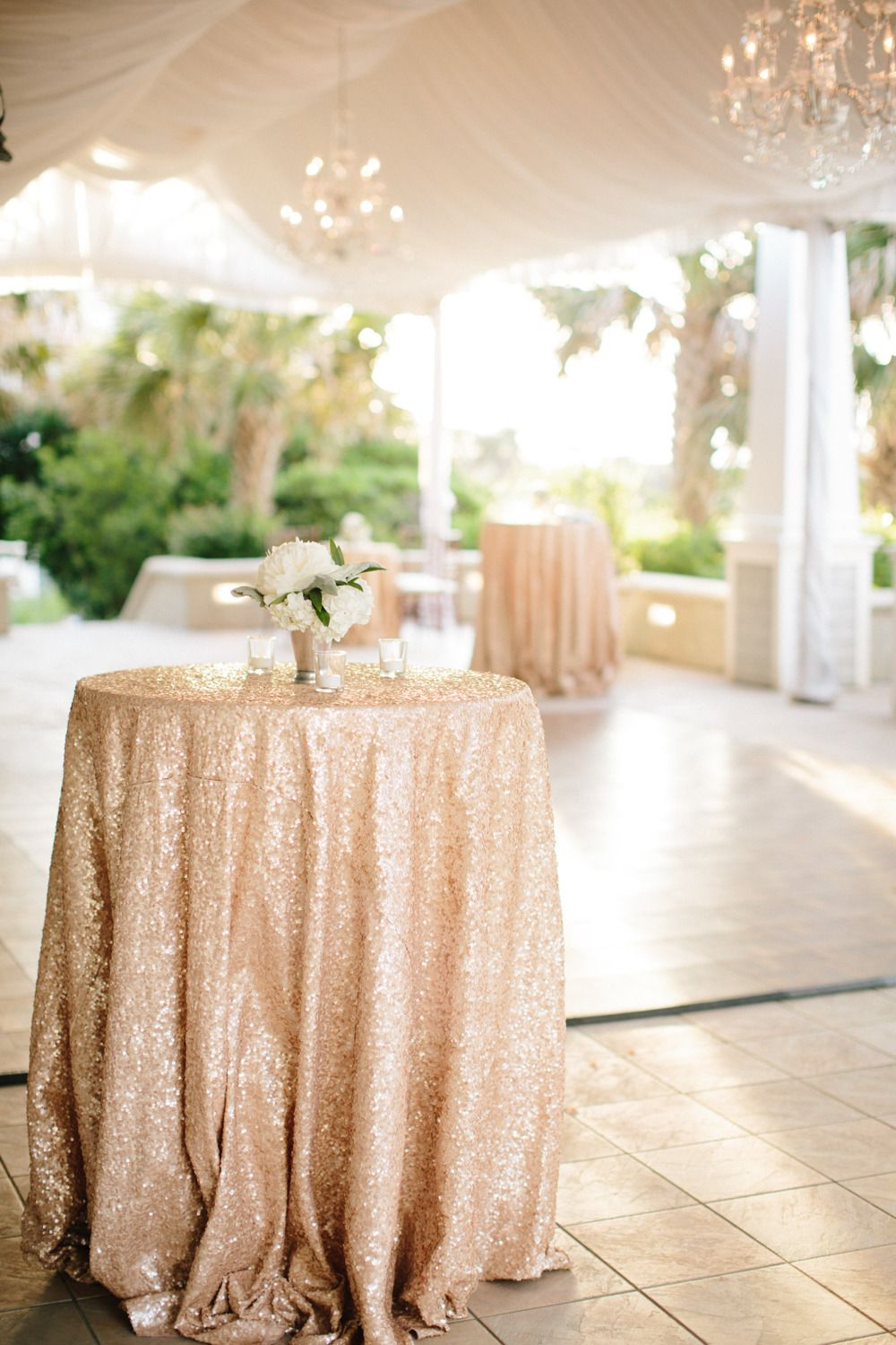 Abby Cocktail Tables Within Recent Chic Seaside Bald Head Island Wedding (Gallery 13 of 20)