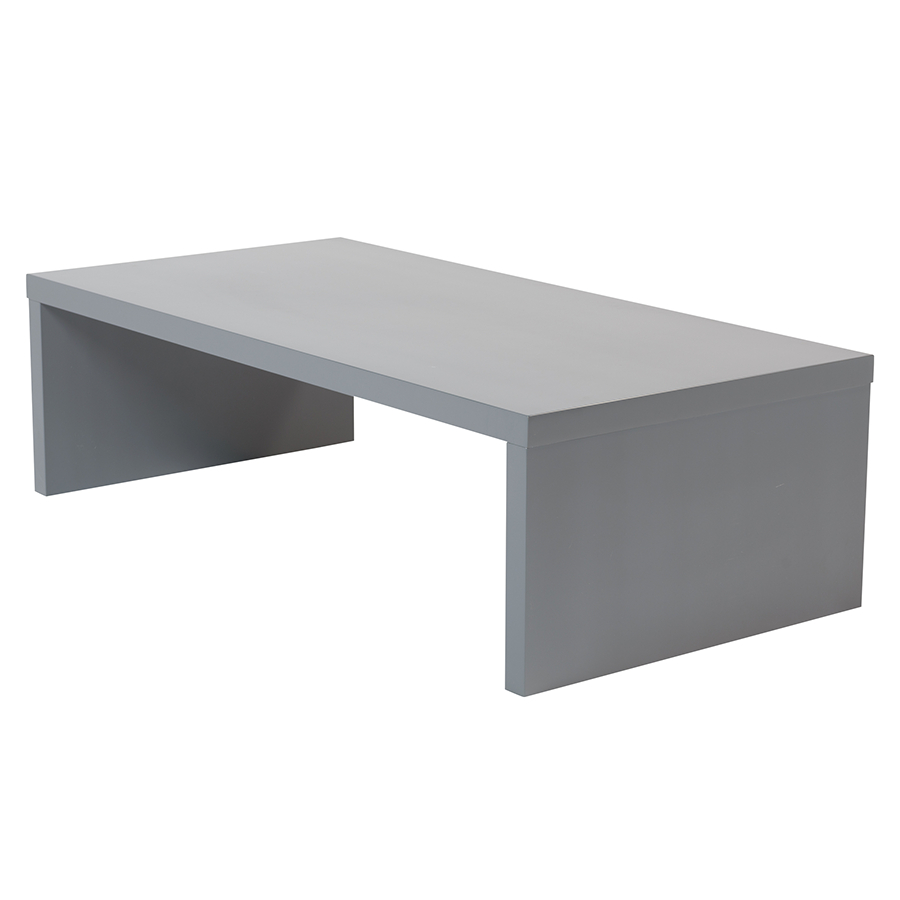 Abby Gray Contemporary Coffee Table (Gallery 6 of 20)