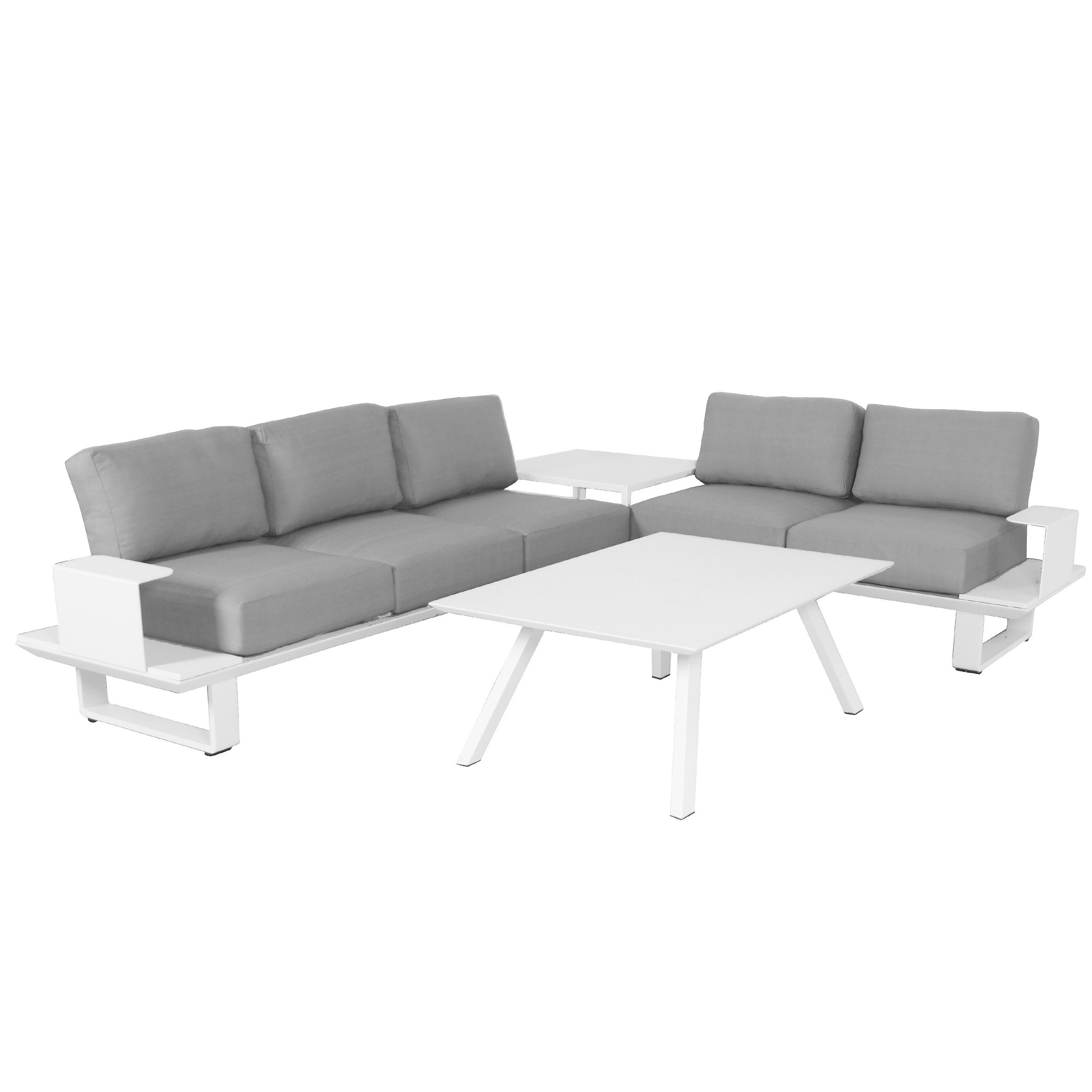 Adeline 3 Piece Sectionals With Regard To Popular Sunset 3 Piece Sectional – Free Shipping Today – Overstock – 21526291 (Gallery 10 of 20)