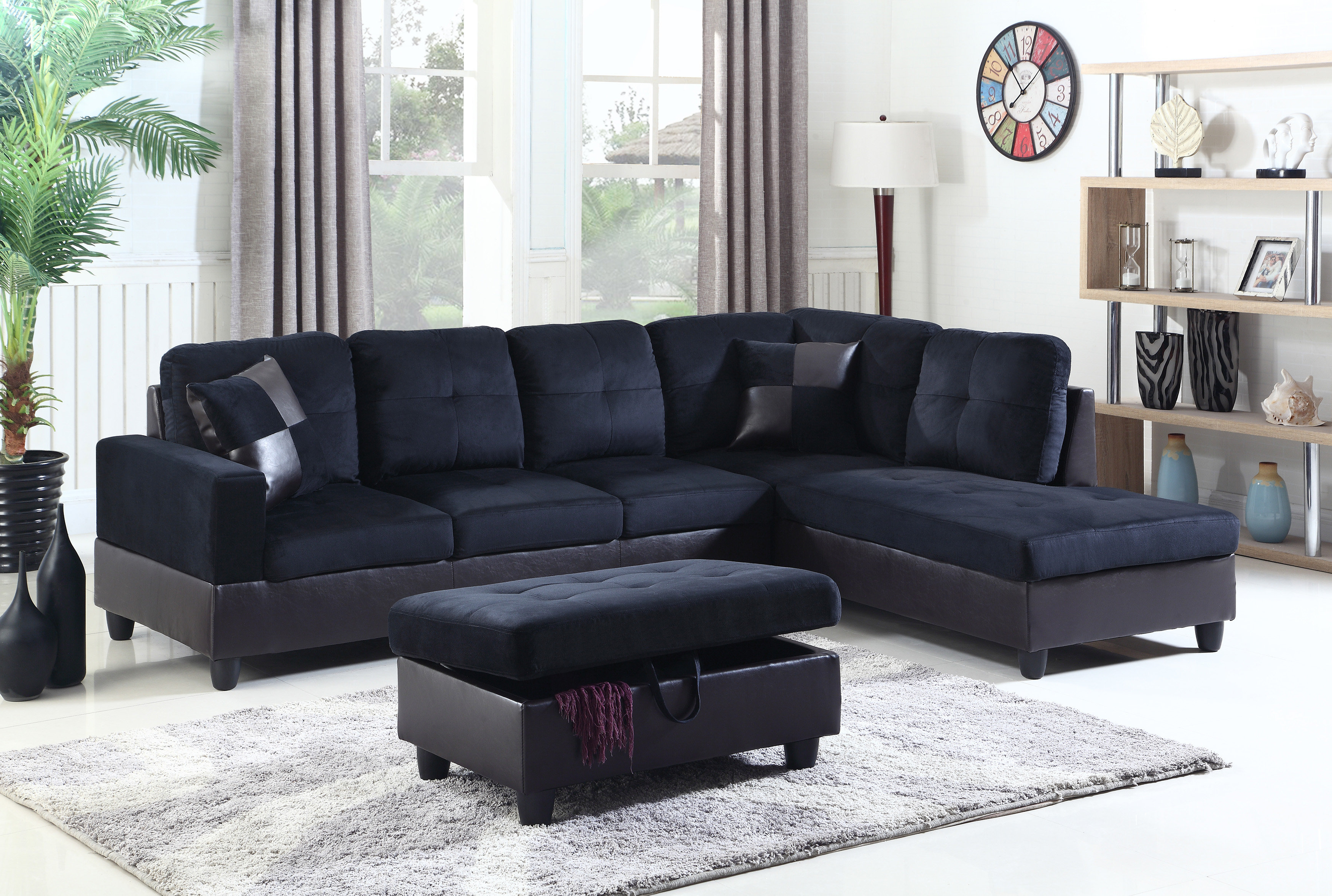 Aidan 4 Piece Sectionals Throughout Most Current Beverly Fine Furniture Aiden Sectional (View 3 of 20)
