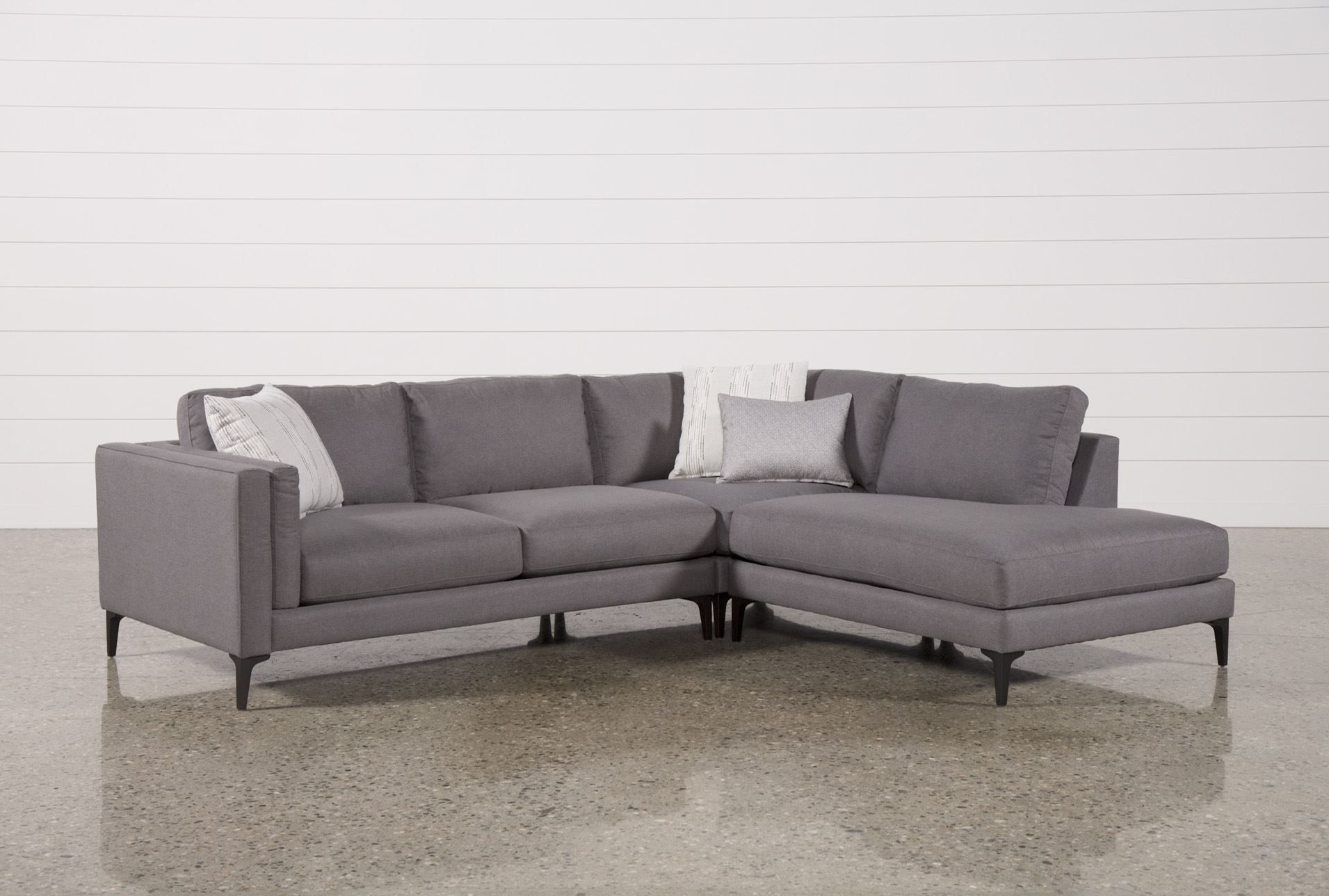 Alder 4 Piece Sectionals With Regard To Well Known Alistair 3 Piece Sectional (View 4 of 20)