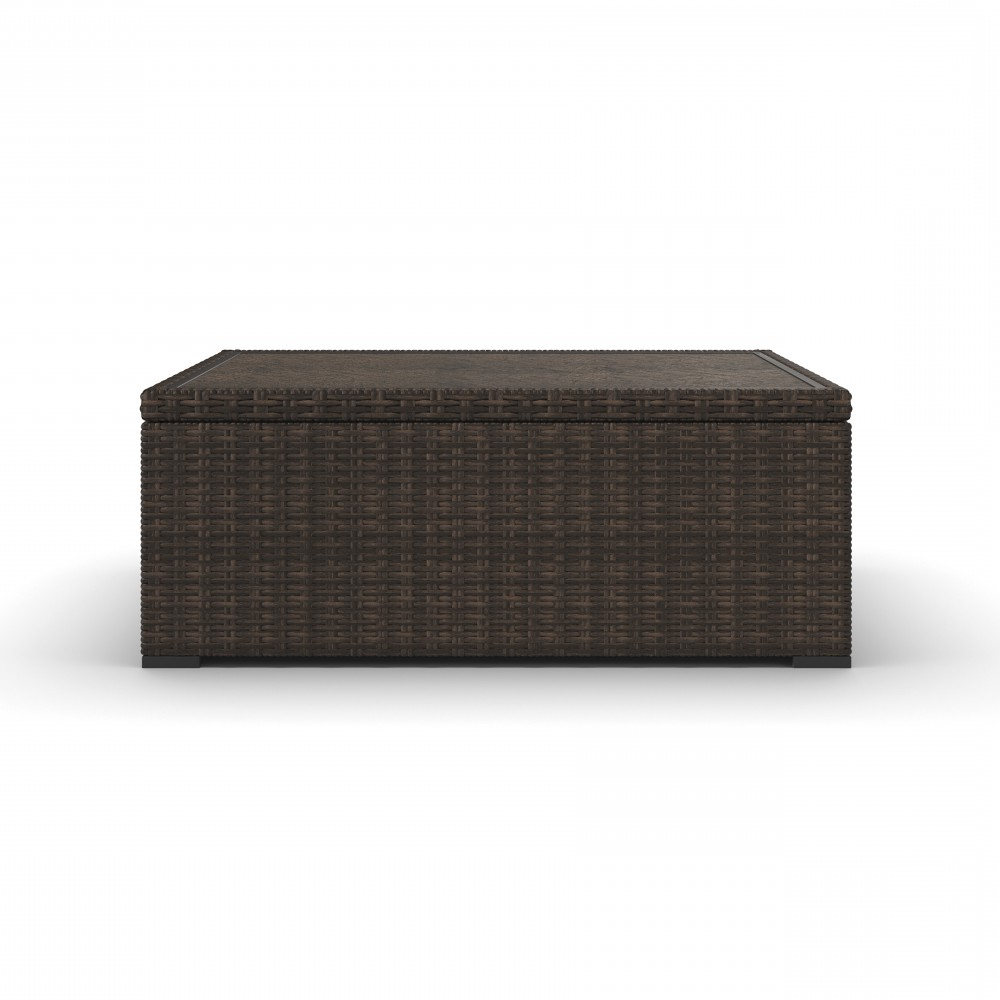 Alta Grande – Beige/brown – Rectangular Cocktail Table (View 7 of 20)