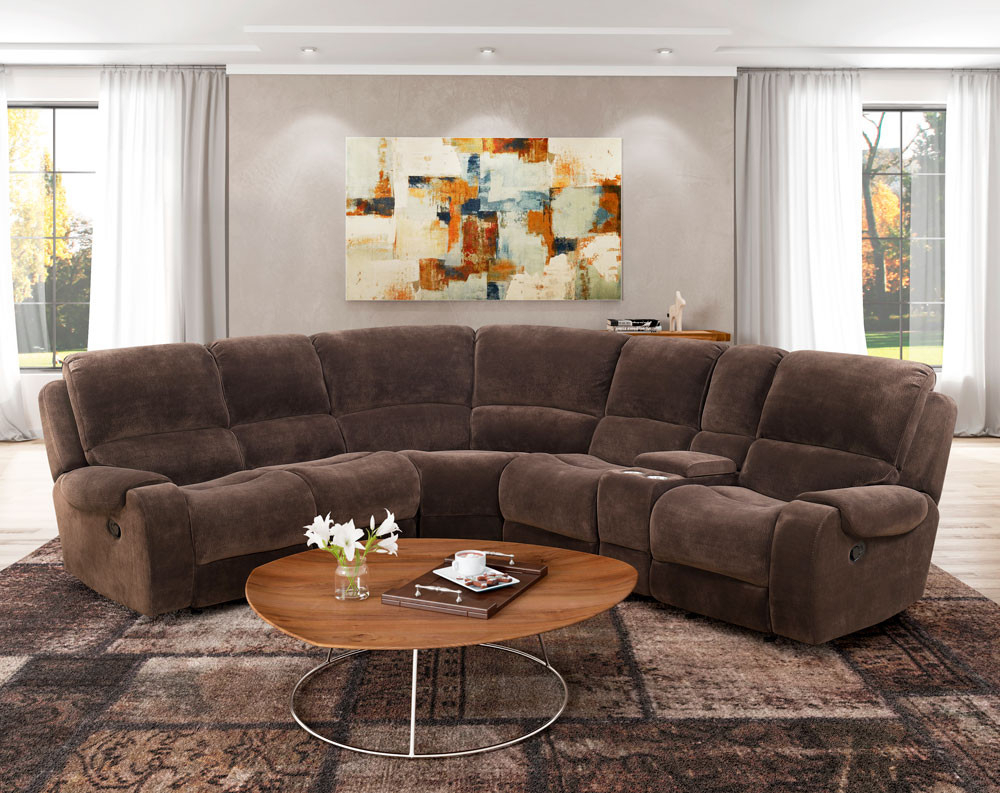 American Freight Regarding Widely Used Norfolk Chocolate 6 Piece Sectionals (Gallery 13 of 20)