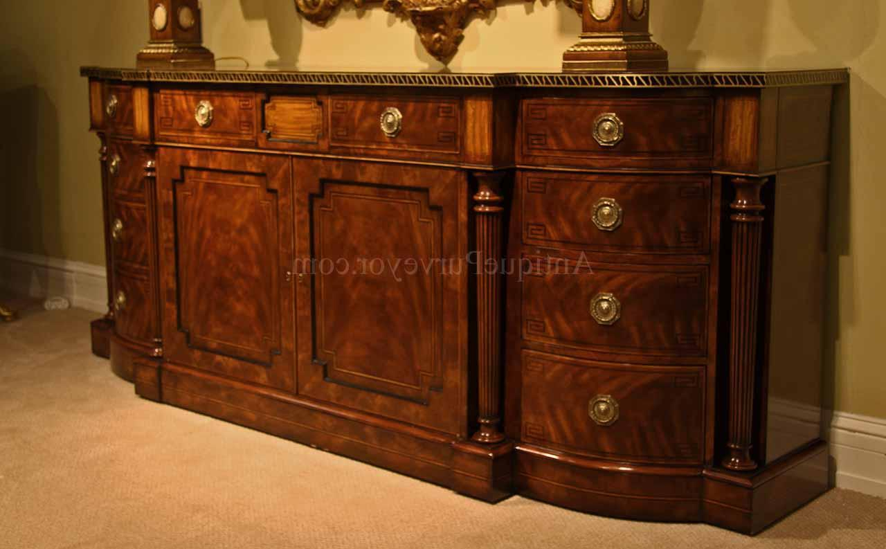 Amos Buffet Sideboards Regarding Famous Sideboards: Best Mahogany Sideboards And Buffets Mahogany Buffet (View 2 of 20)