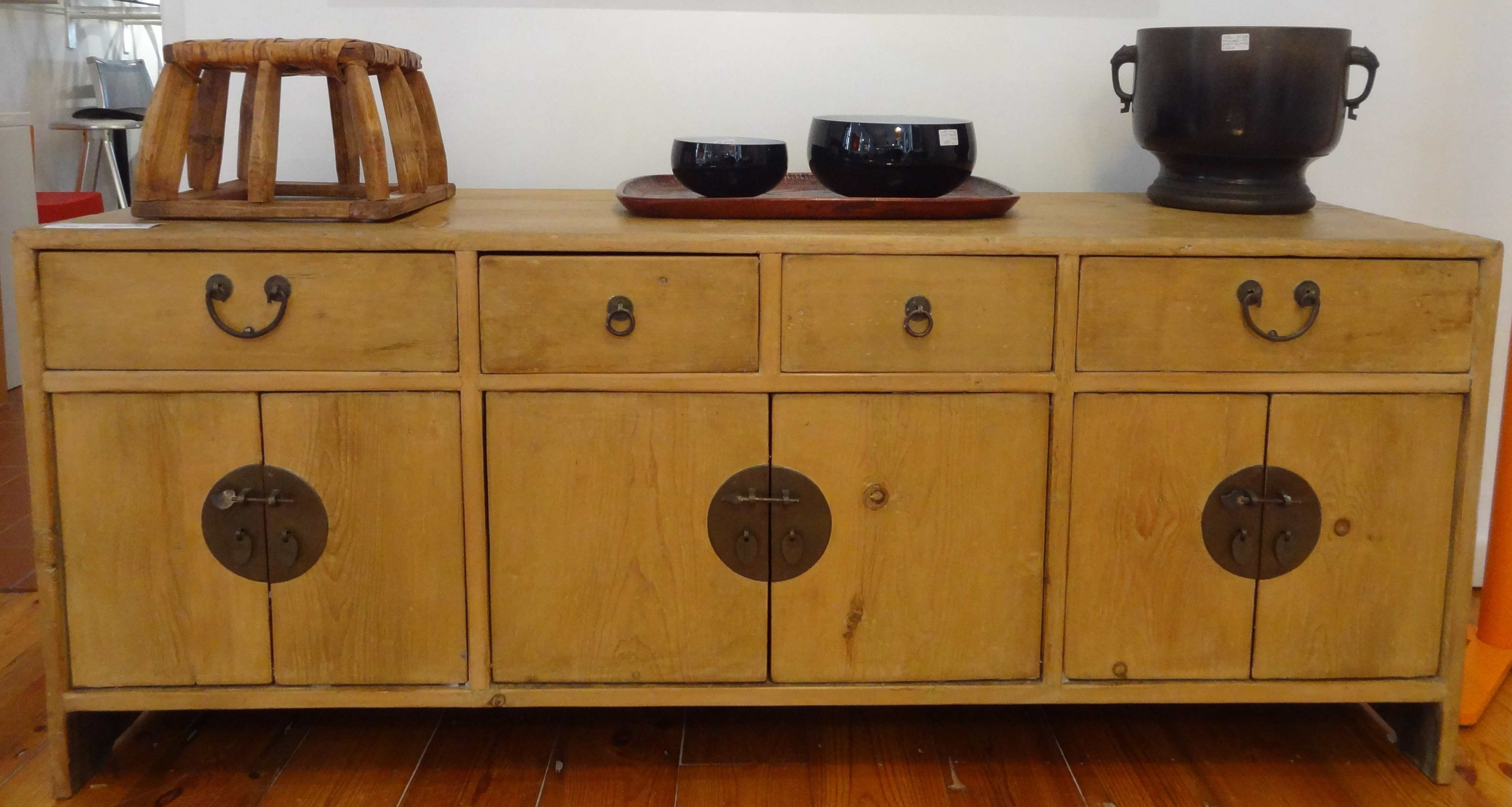 Antique Walnut Finish 2 Door/4 Drawer Sideboards In Well Liked Antique Sideboards (View 1 of 20)