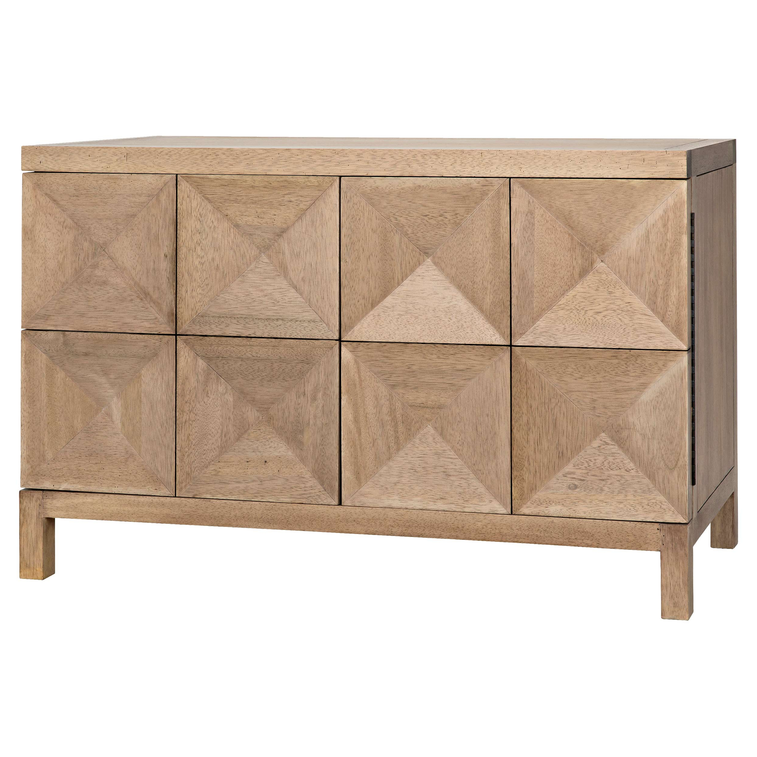 Antique Walnut Finish 2 Door/4 Drawer Sideboards Within Trendy Buffets & Sideboards (View 19 of 20)