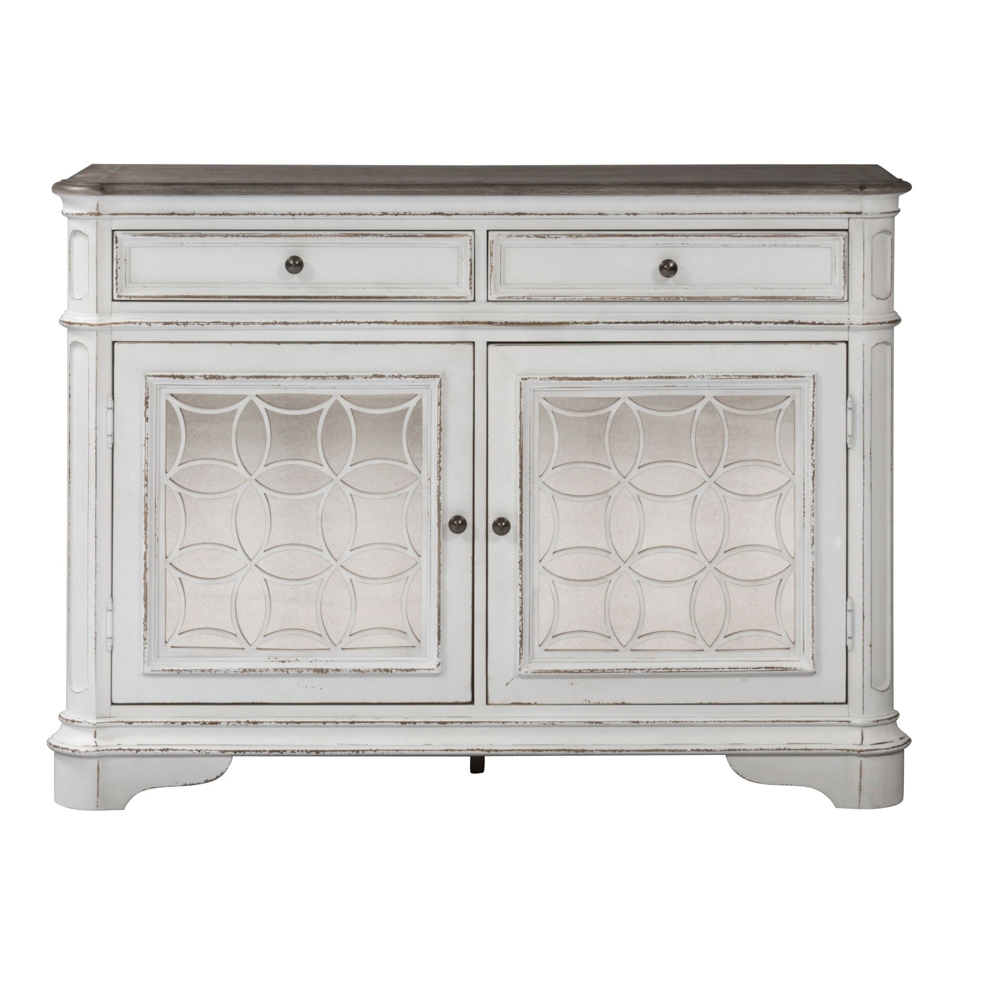 Antique White Sideboards Throughout Favorite Shop Magnolia Manor Antique White Buffet – On Sale – Free Shipping (Gallery 7 of 20)
