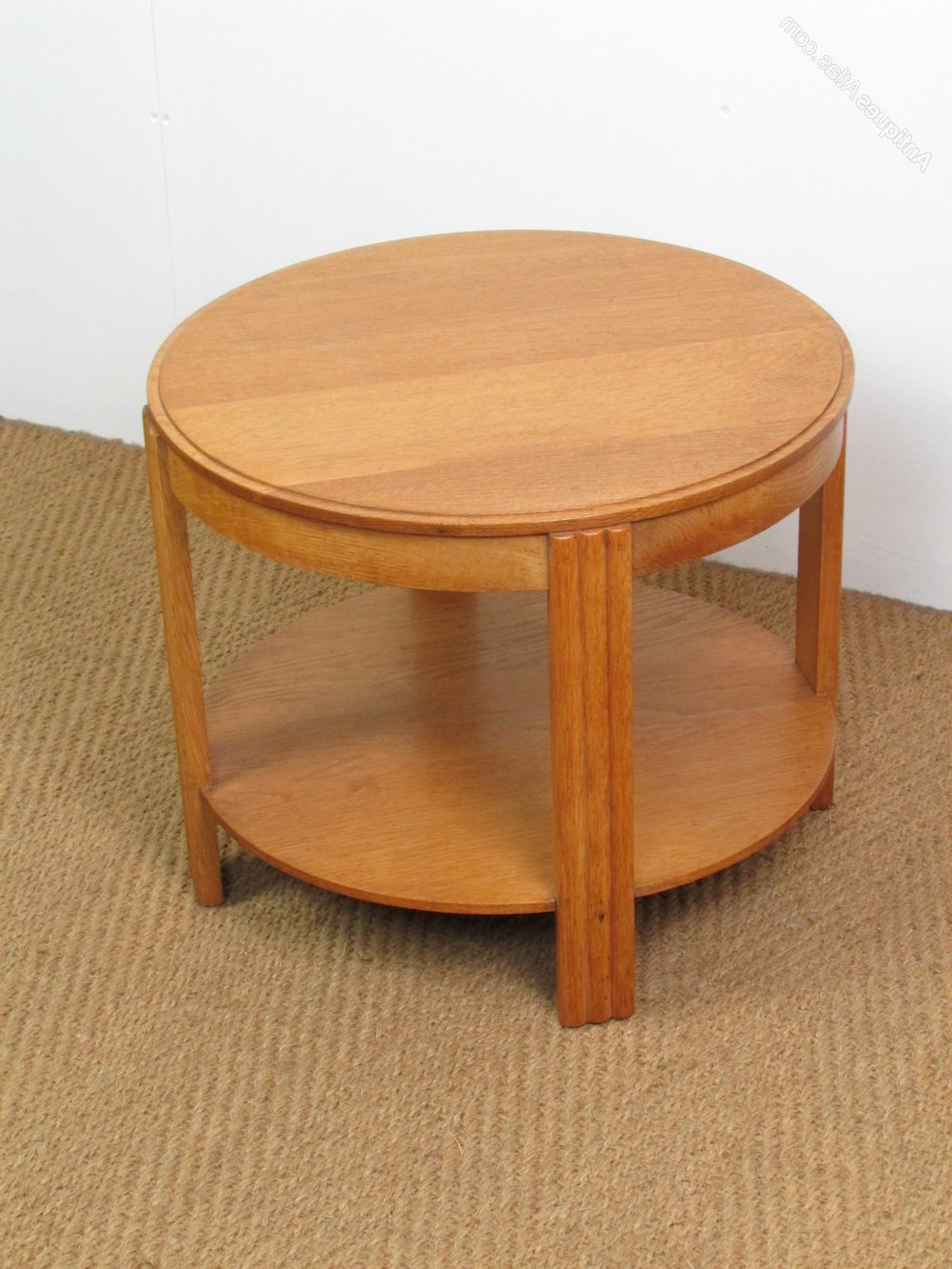 Antiqued Art Deco Coffee Tables Throughout Newest Art Deco Oak Coffee / Side Table – Antiques Atlas (Gallery 1 of 20)