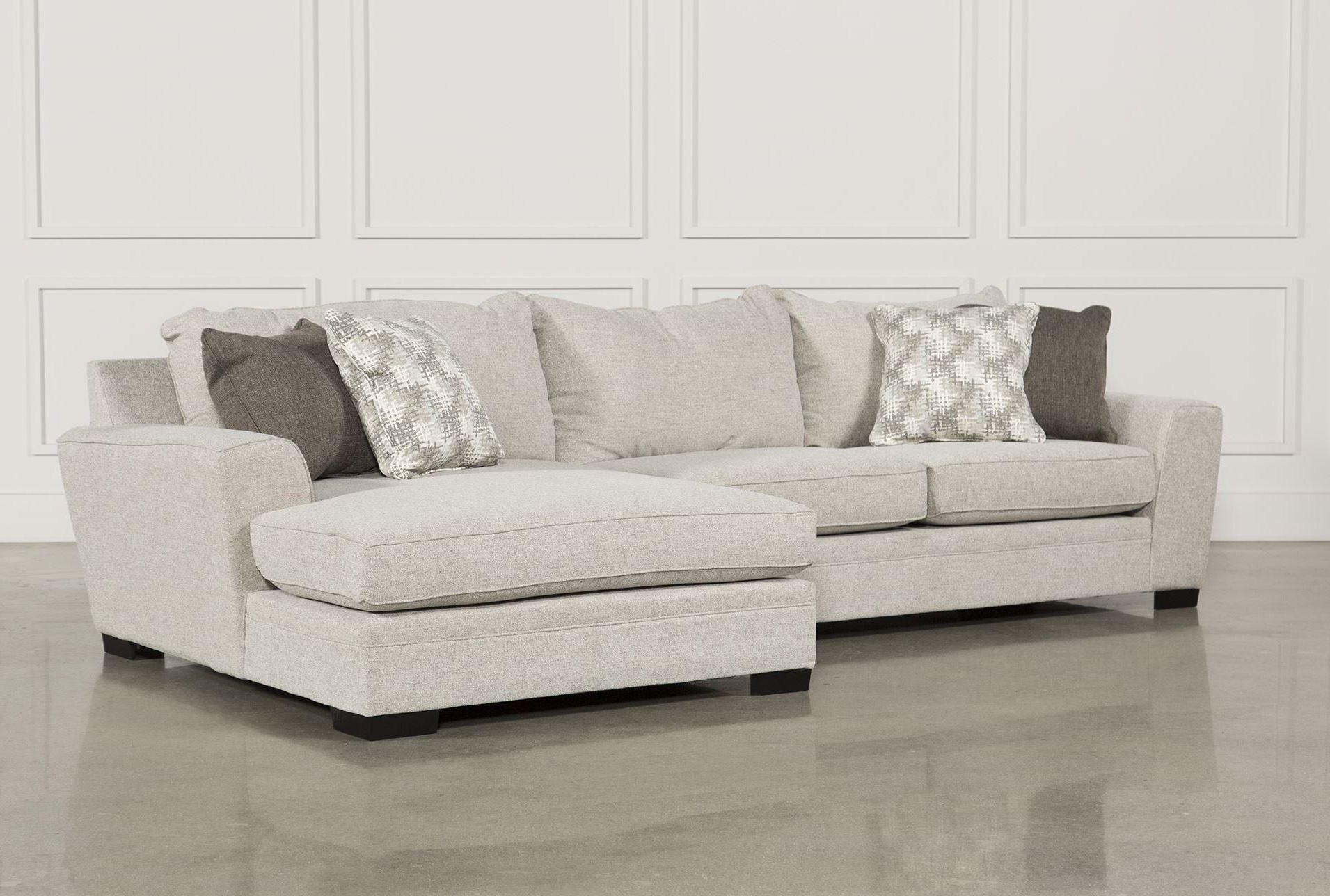Aquarius Light Grey 2 Piece Sectionals With Raf Chaise Inside Most Up To Date Delano 2 Piece Sectional W/raf Oversized Chaise (View 4 of 20)