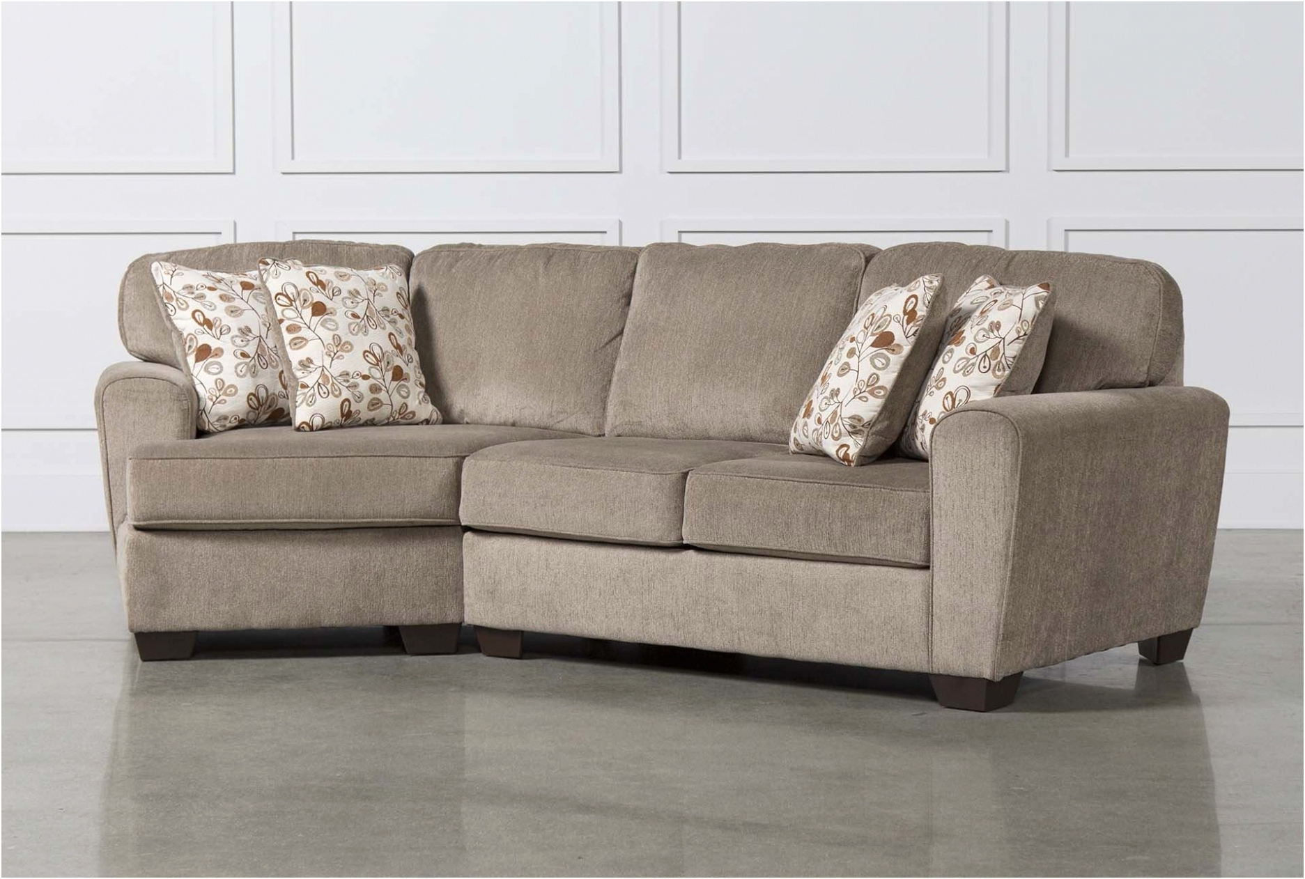 Aquarius Light Grey 2 Piece Sectionals With Raf Chaise Within Popular Living Spaces Sectional Couches – Tidex (View 18 of 20)
