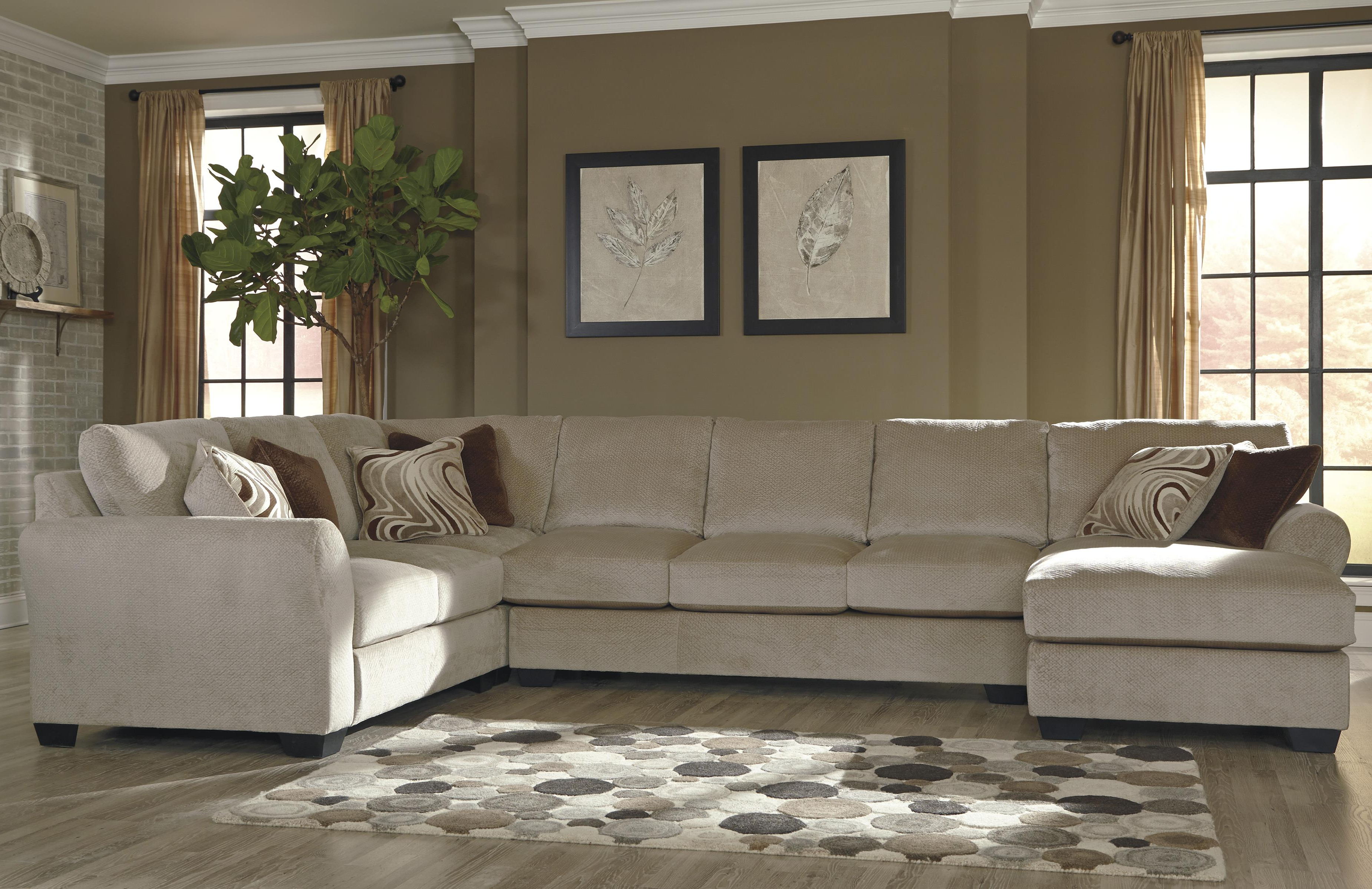 Armless Sectional Sofa With Chaise (Gallery 16 of 20)
