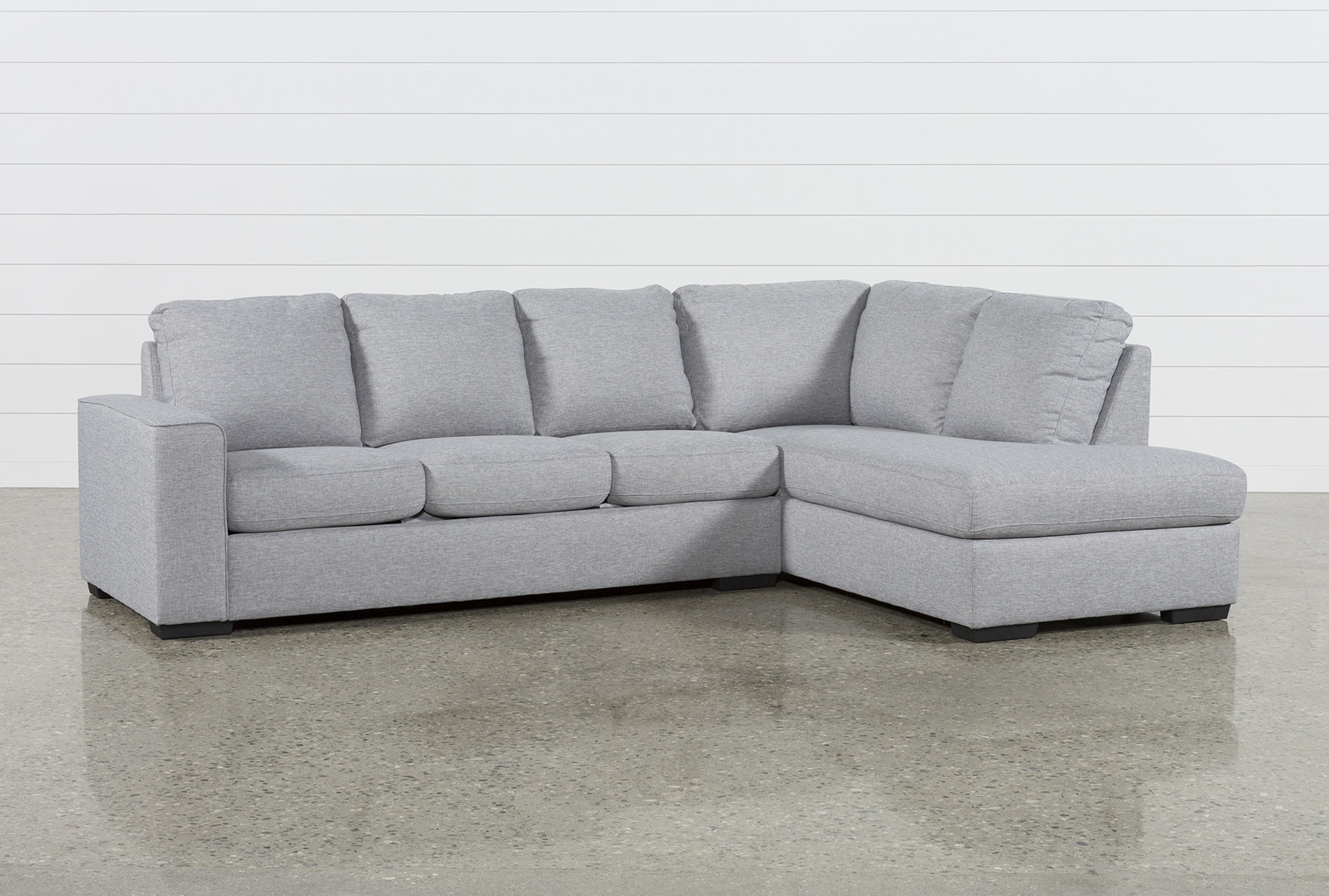 Arrowmask 2 Piece Sectionals With Laf Chaise Inside Most Recent Lucy Grey 2 Piece Sectional W/laf Chaise (View 6 of 20)