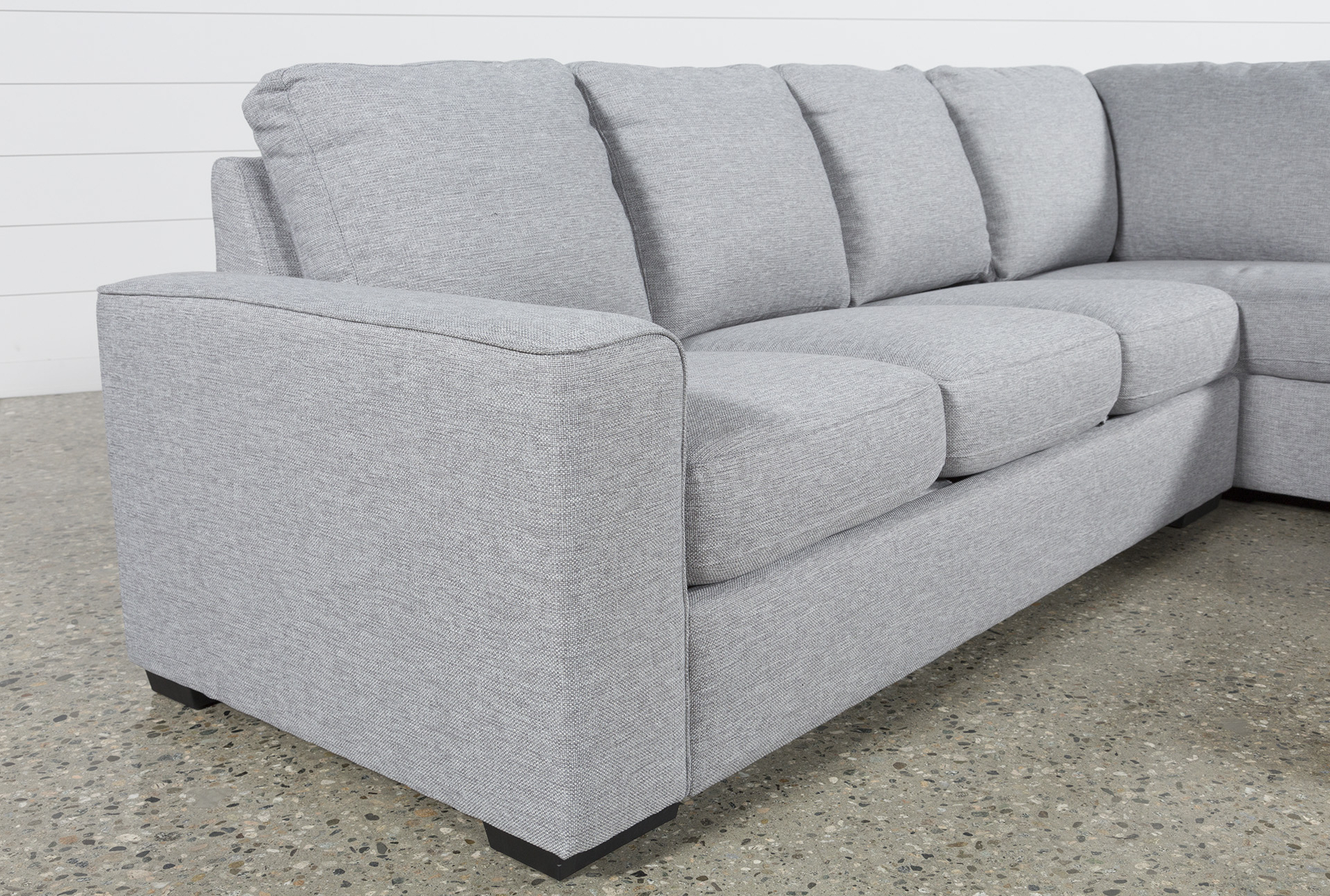 Arrowmask 2 Piece Sectionals With Raf Chaise Throughout Most Popular Lucy Grey 2 Piece Sectional W/laf Chaise (View 10 of 20)