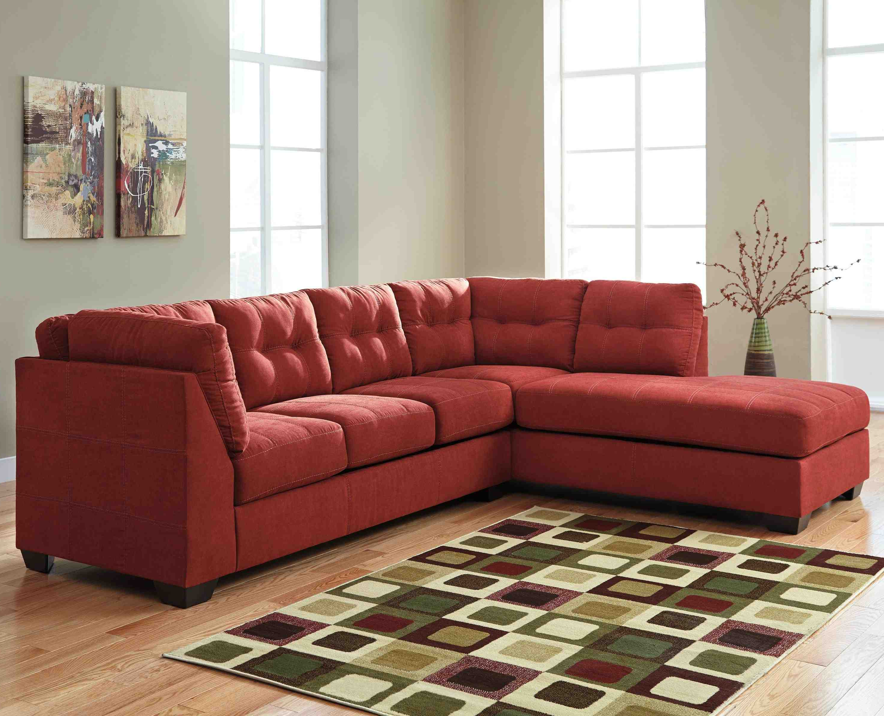 Arrowmask 2 Piece Sectionals With Sleeper & Right Facing Chaise Pertaining To 2018 Delano 2 Piece Sectional W/laf Oversized Chaise Living Spaces (View 4 of 20)