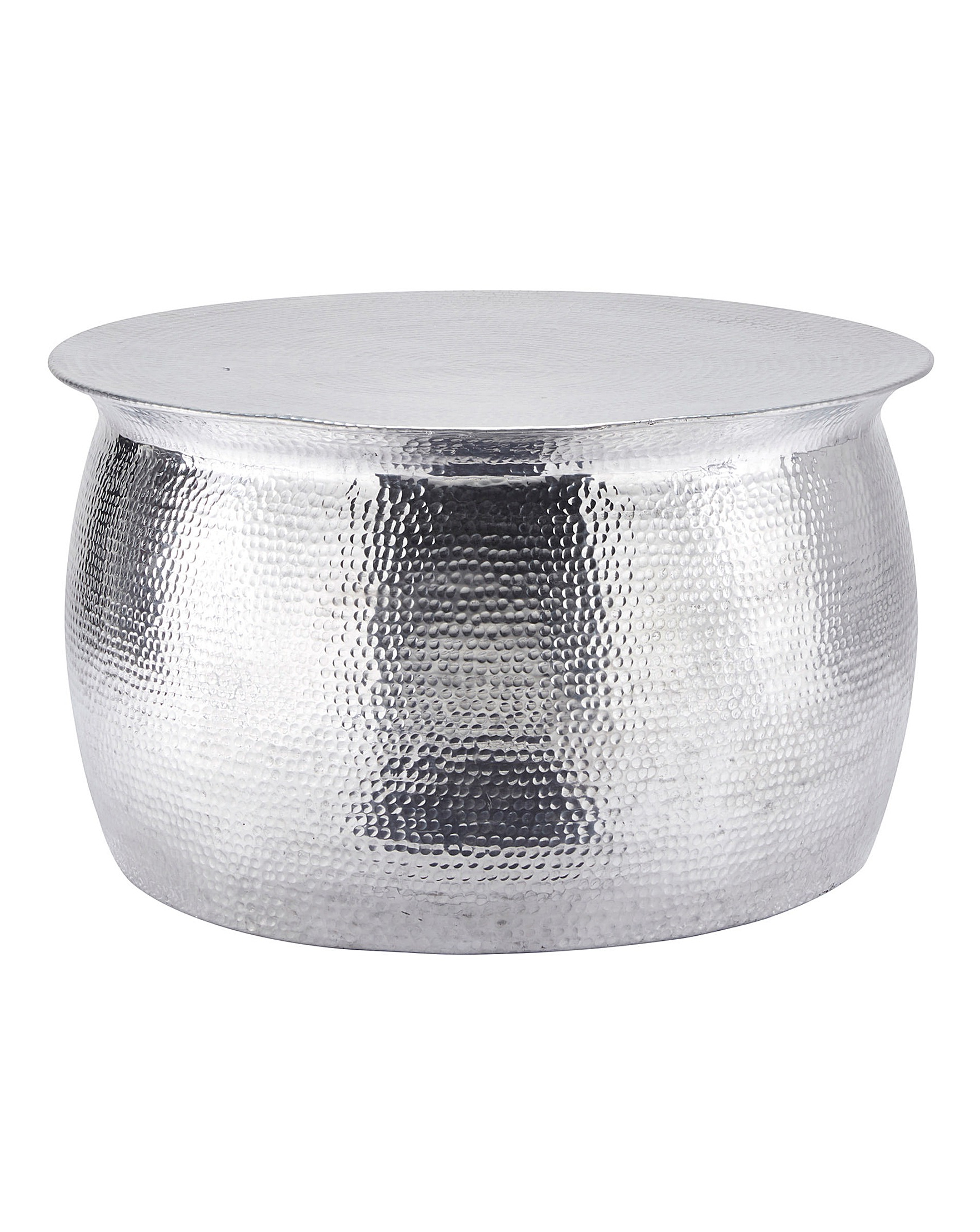 Artisan Hammered Metal Coffee Table (View 1 of 20)