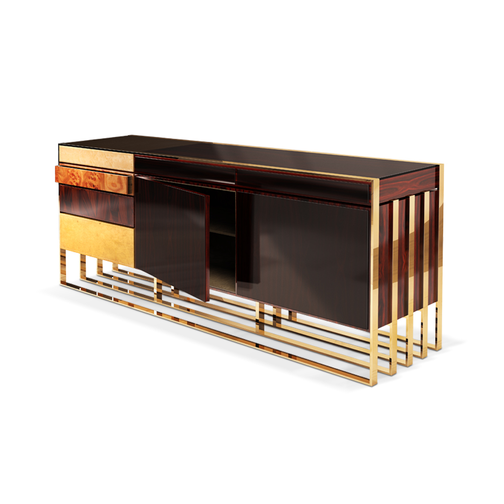 Artistic Furniture With Regard To Ironwood 4 Door Sideboards (View 18 of 20)