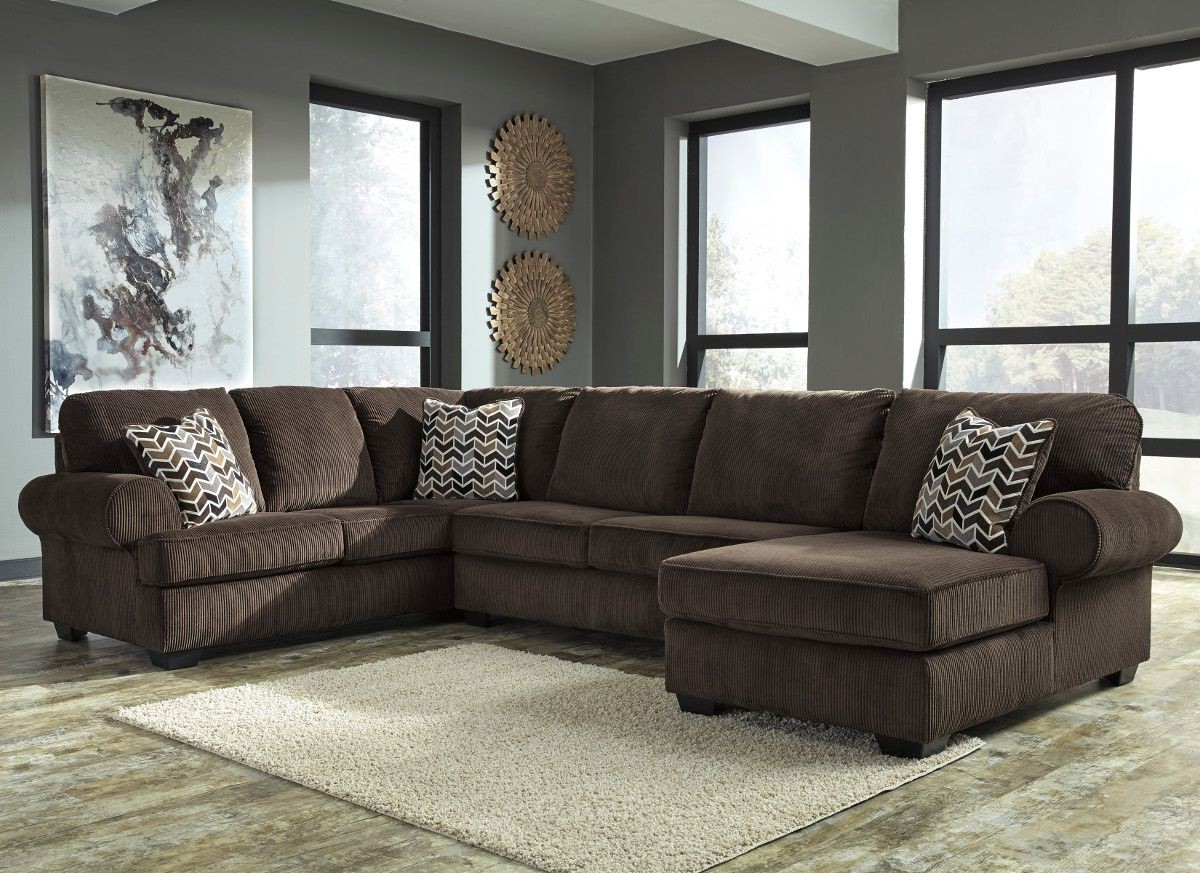 Ashley Furniture Jinllingsly 3 Piece Sectional With Laf Chaise In Within Famous Sierra Foam Ii 3 Piece Sectionals (Gallery 3 of 20)