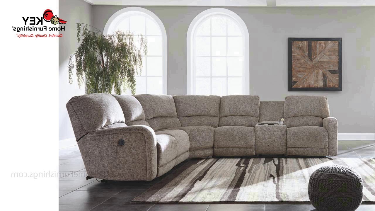 Ashley Pittsfield 4 Piece Sectional With Power 17901R (View 1 of 20)