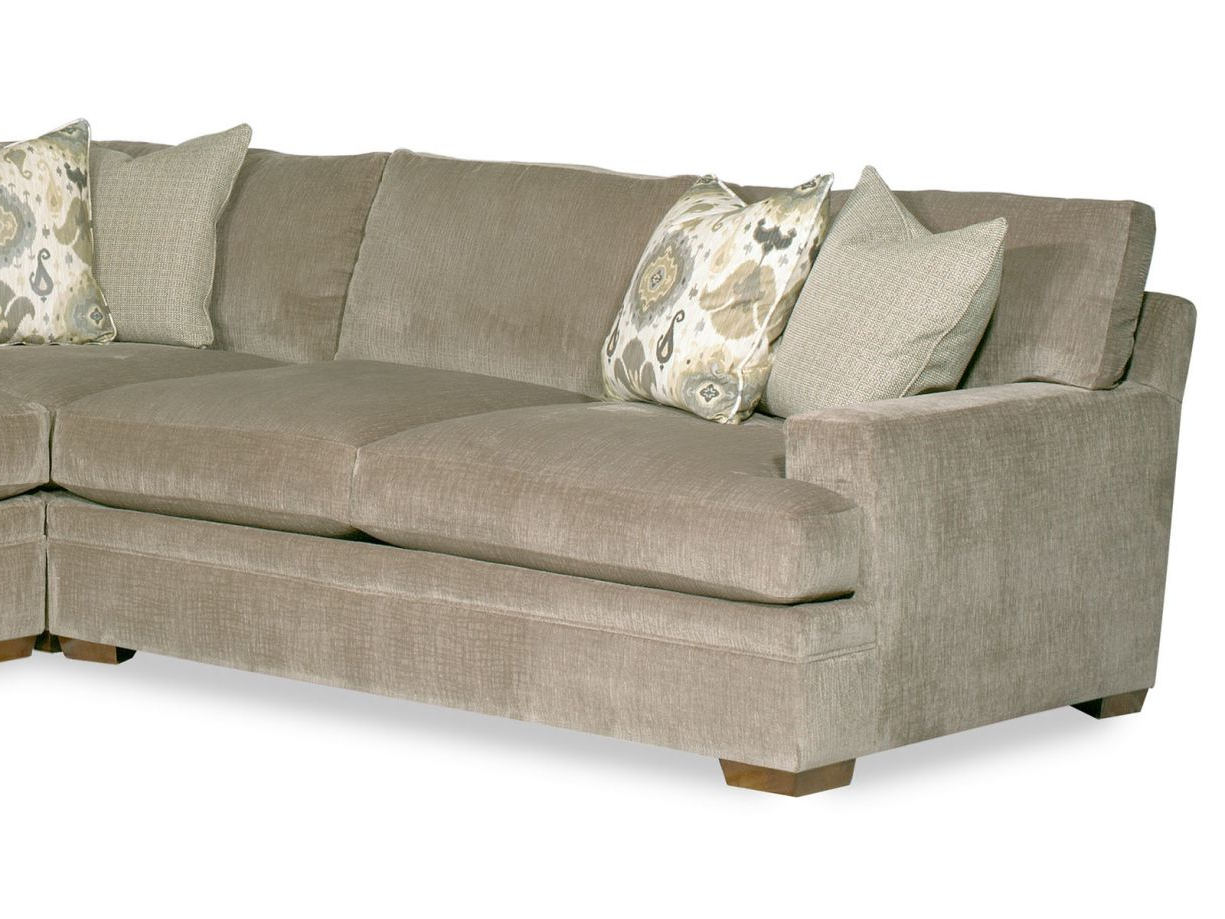 Aspen 2 Piece Sectionals With Laf Chaise Within Widely Used Aria Designs Wentworth 3 Piece Leather Sectional In Stone (Gallery 11 of 20)