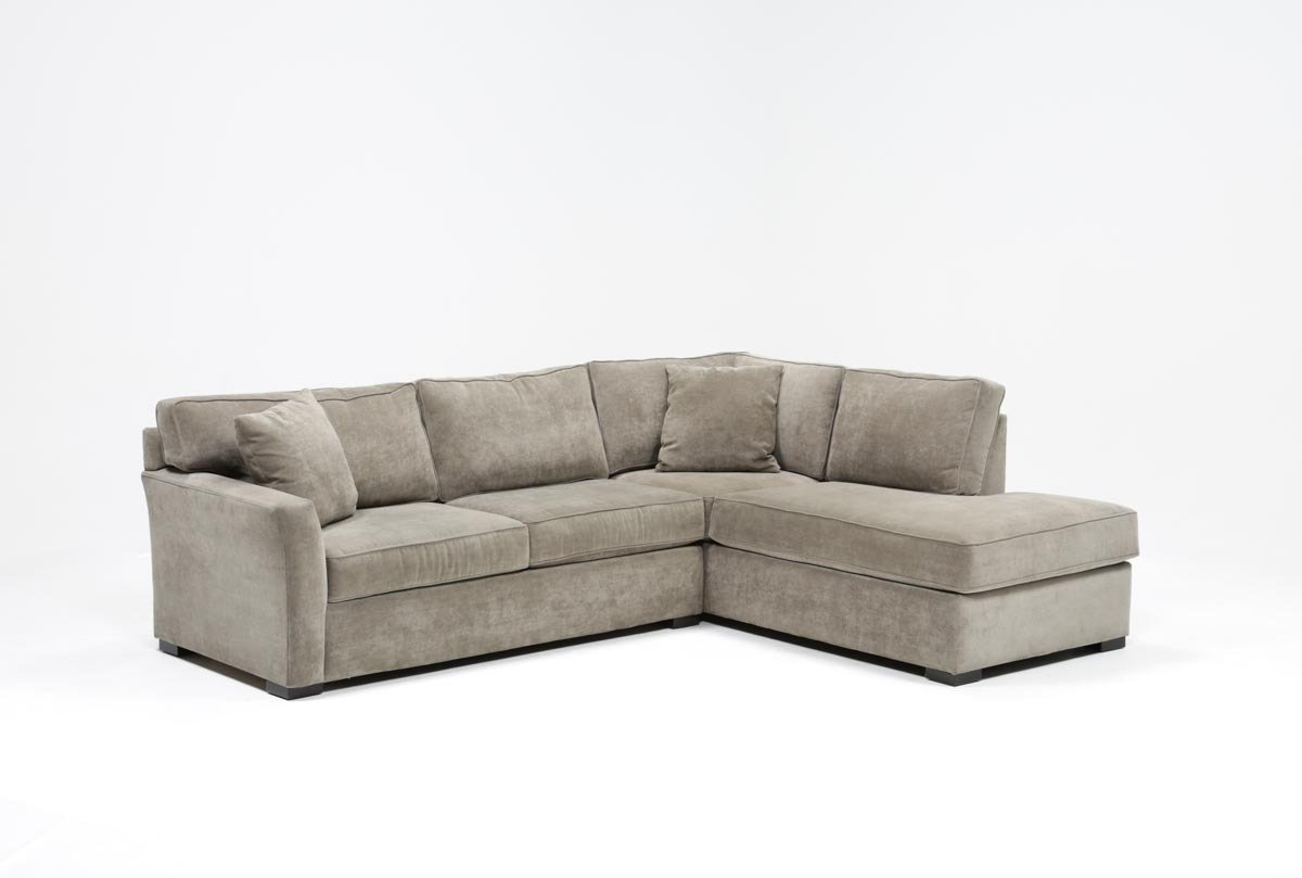Aspen 2 Piece Sleeper Sectional W/laf Chaise (Gallery 1 of 20)