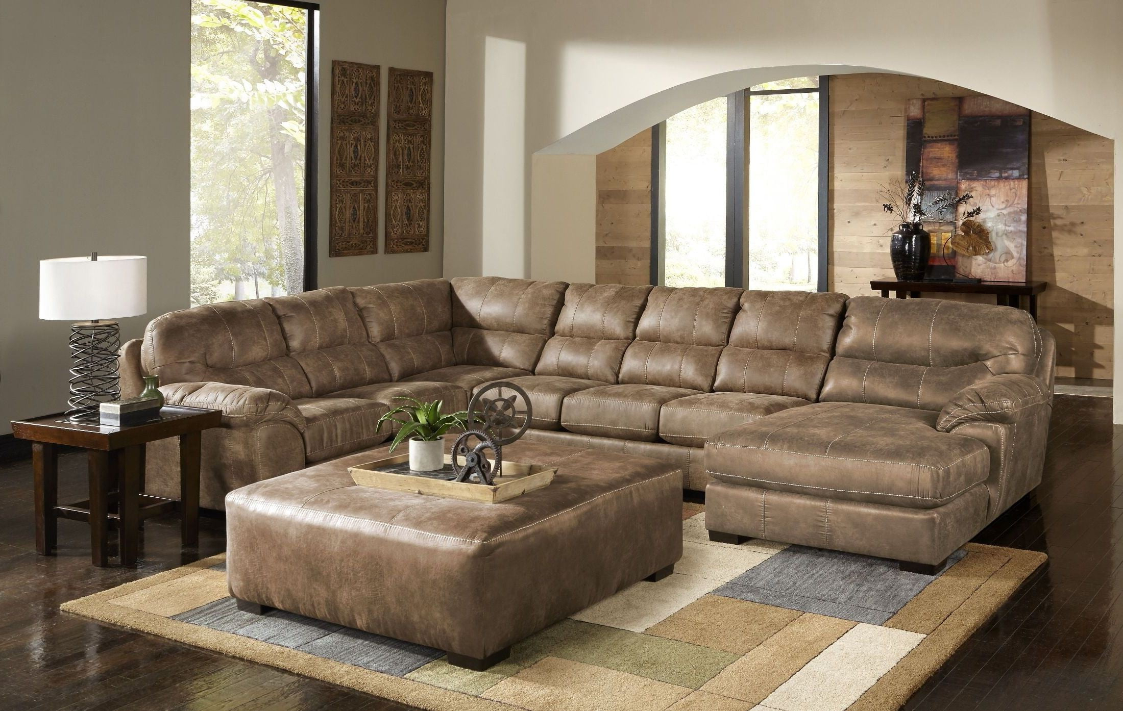 Avery 2 Piece Sectionals With Raf Armless Chaise Intended For Most Recent Grant Silt Laf Chaise Sectional, 4453 75 122749302749, Jackson (View 5 of 20)