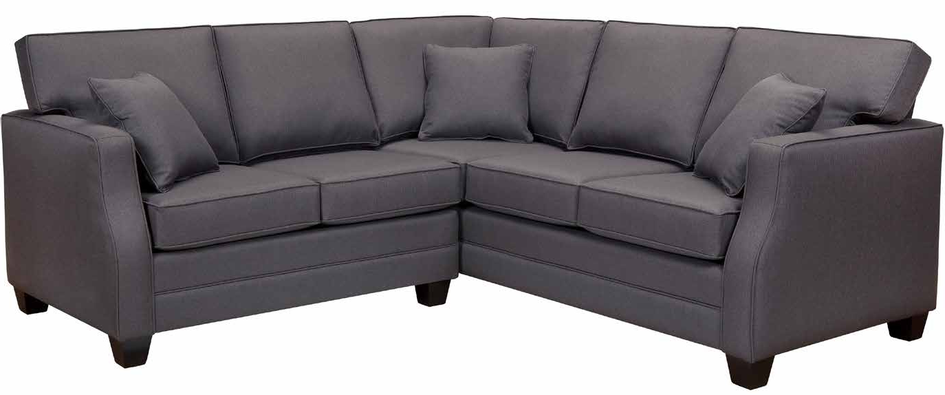 Avery 2 Piece Sectionals With Raf Armless Chaise Throughout Current Custom Upholstery Program – Pdf (View 6 of 20)