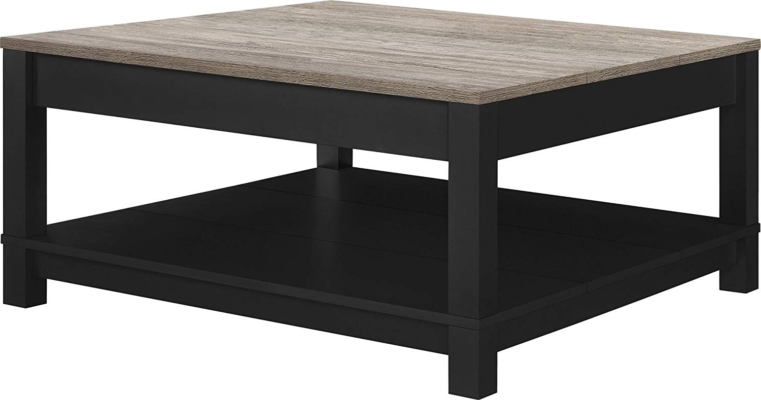 Awesome Coffee Table Black – Architecture Home Ideas Regarding Most Recent Darbuka Black Coffee Tables (View 6 of 20)