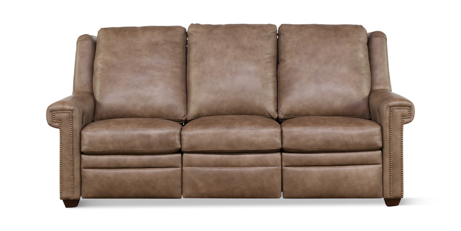 Baci Living Room In Clyde Saddle 3 Piece Power Reclining Sectionals With Power Headrest & Usb (View 20 of 20)