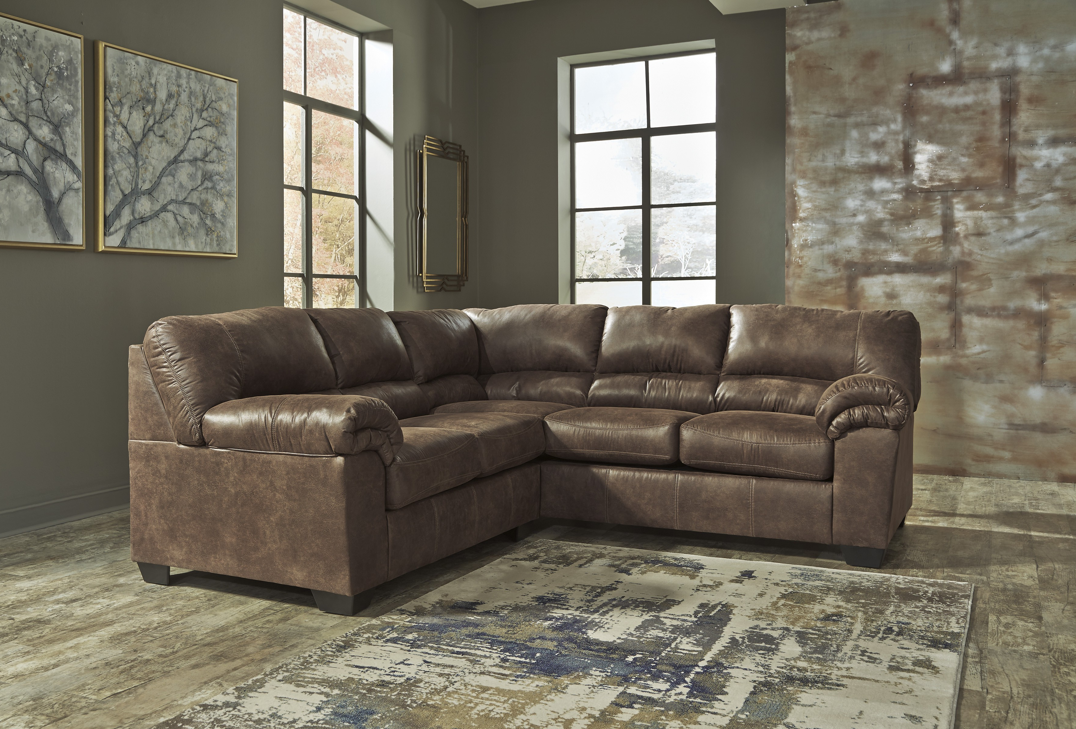 Baci Living Room Pertaining To Turdur 3 Piece Sectionals With Raf Loveseat (View 4 of 20)