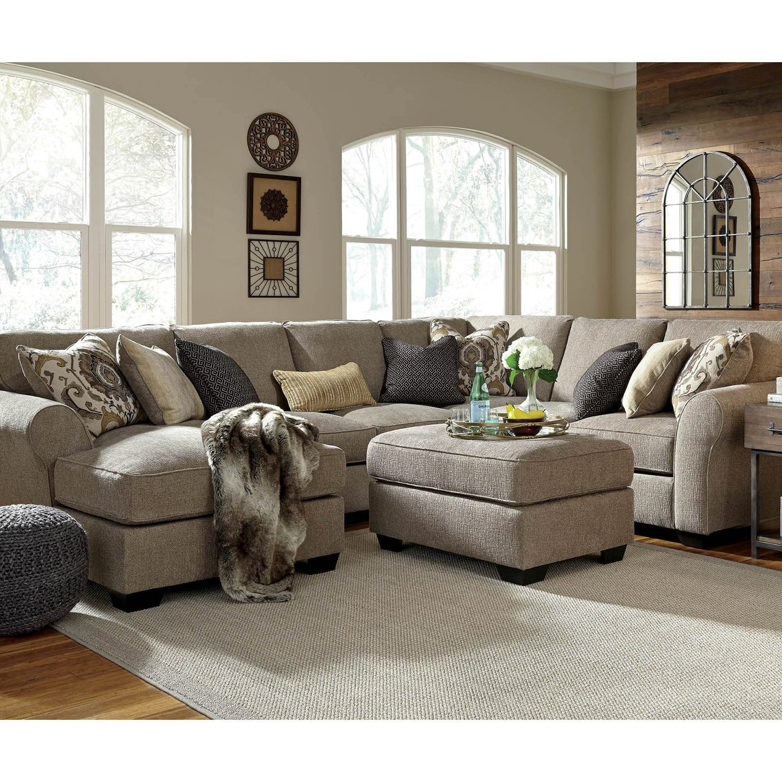 Baci Living Room With Turdur 3 Piece Sectionals With Laf Loveseat (View 3 of 20)