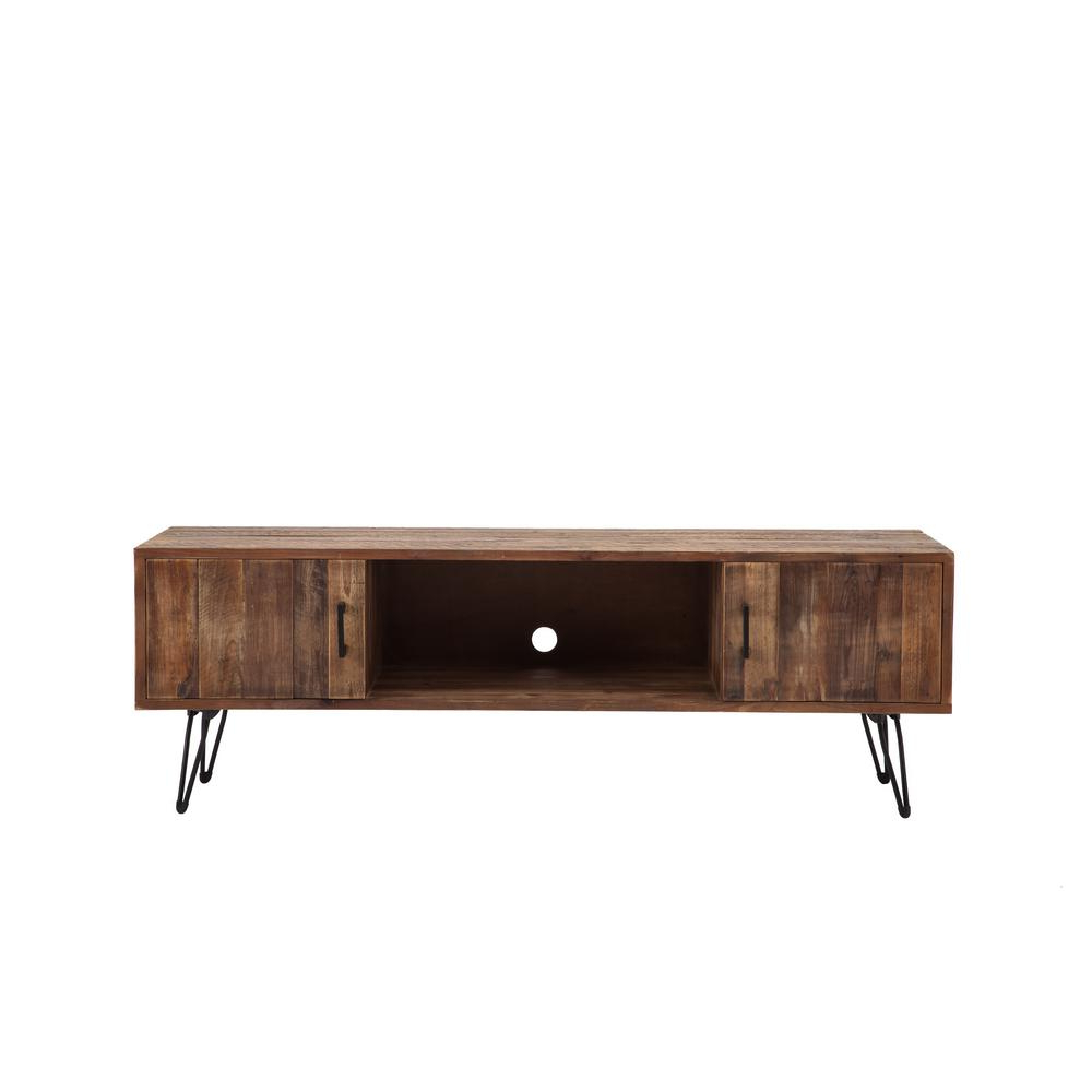 Bale Rustic Grey Sideboards Pertaining To Widely Used Home Styles Franklin Media Tv Stand Cabinet 5081 10 – The Home Depot (View 17 of 20)