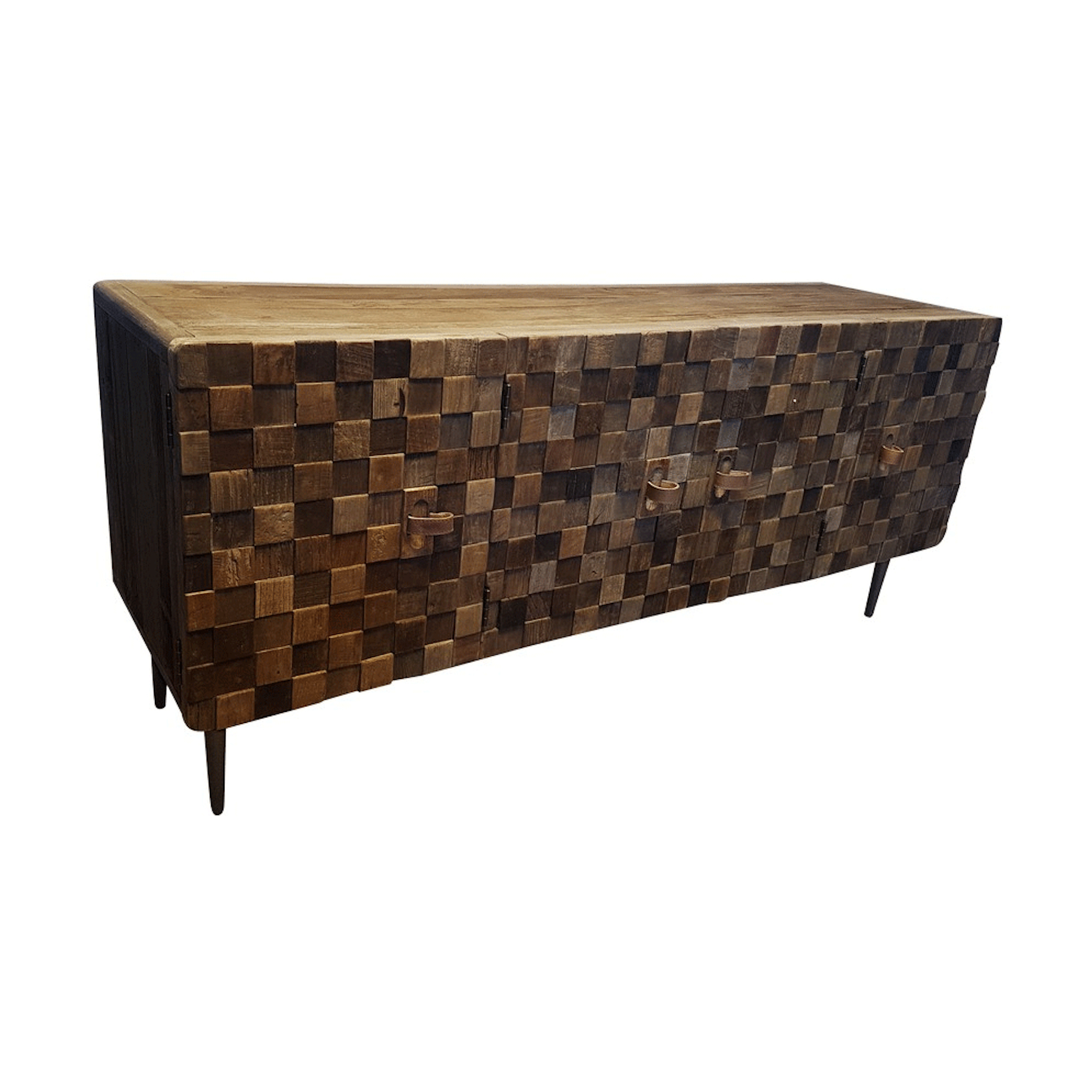 Baltic Sideboard – Reclaimed Elm/iron 2010mm – Urbano Interiors With Regard To Most Recently Released Reclaimed Elm Iron Coffee Tables (View 3 of 20)