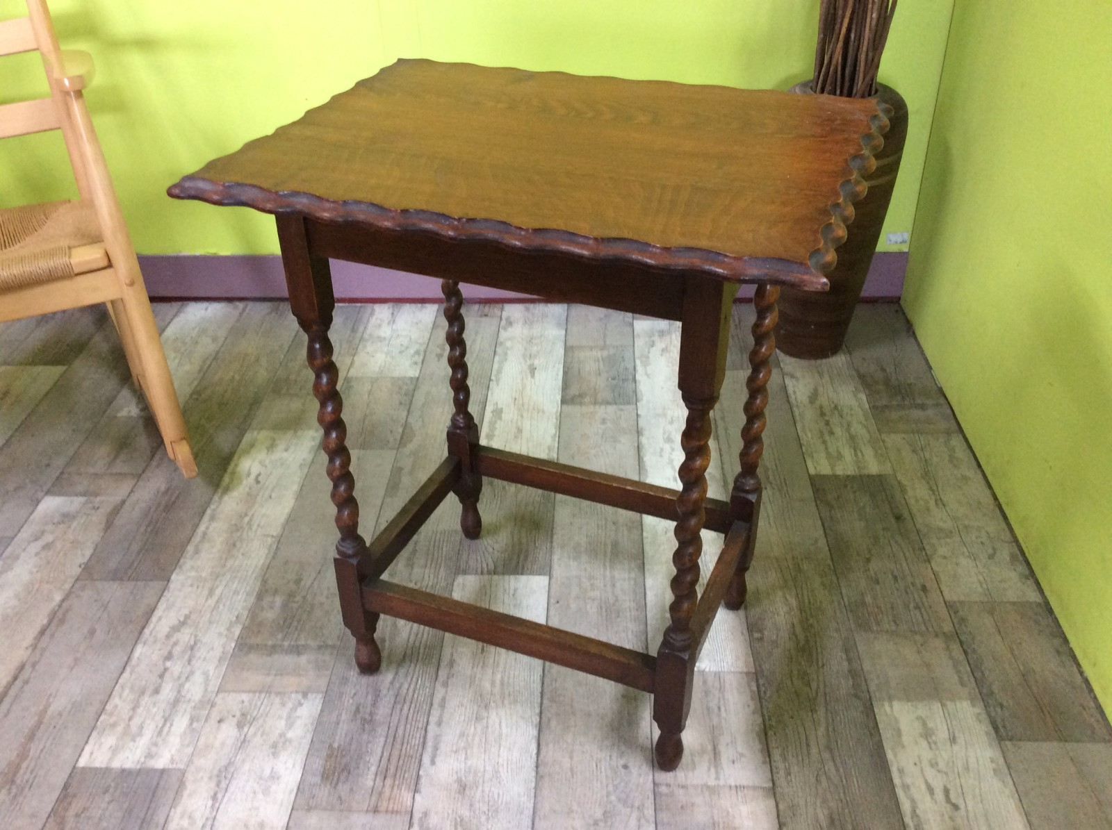 Barley Twist Coffee Tables Throughout Well Liked Sale Now On – Barley Twist Coffee Table / Side Table – The Recycled (View 18 of 20)