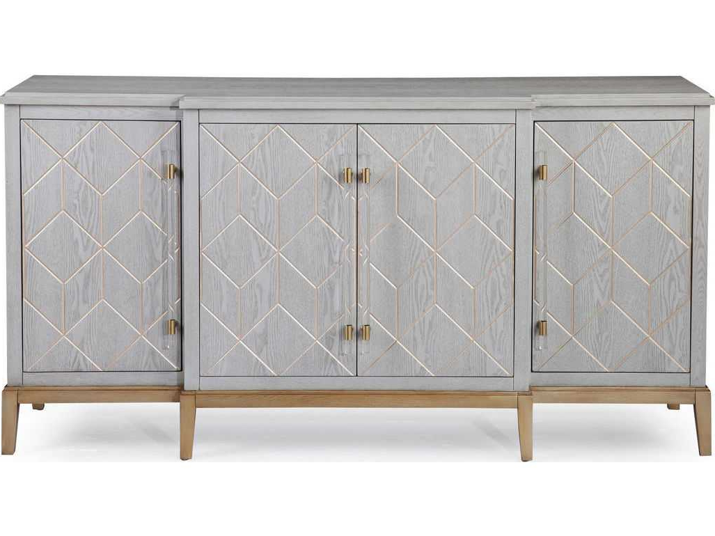 Bassett Mirror Thoroughly Modern Perrine 68'' X 19'' Server For Preferred Teagan Sideboards (Gallery 15 of 20)
