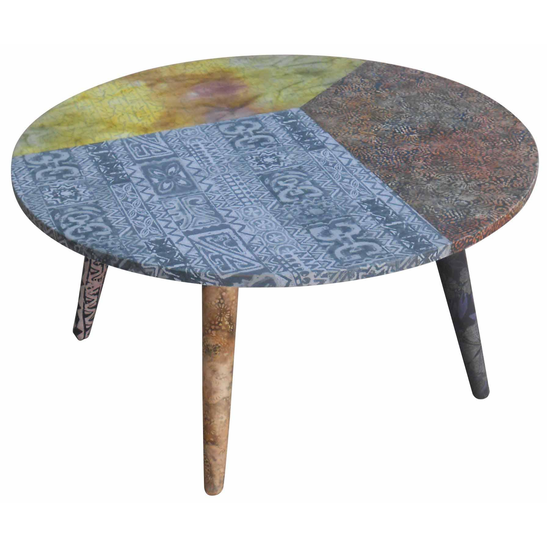 Batik Coffee Tables Inside Favorite Keen Coffee Table, Batik – Boulevard Urban Living (View 8 of 20)