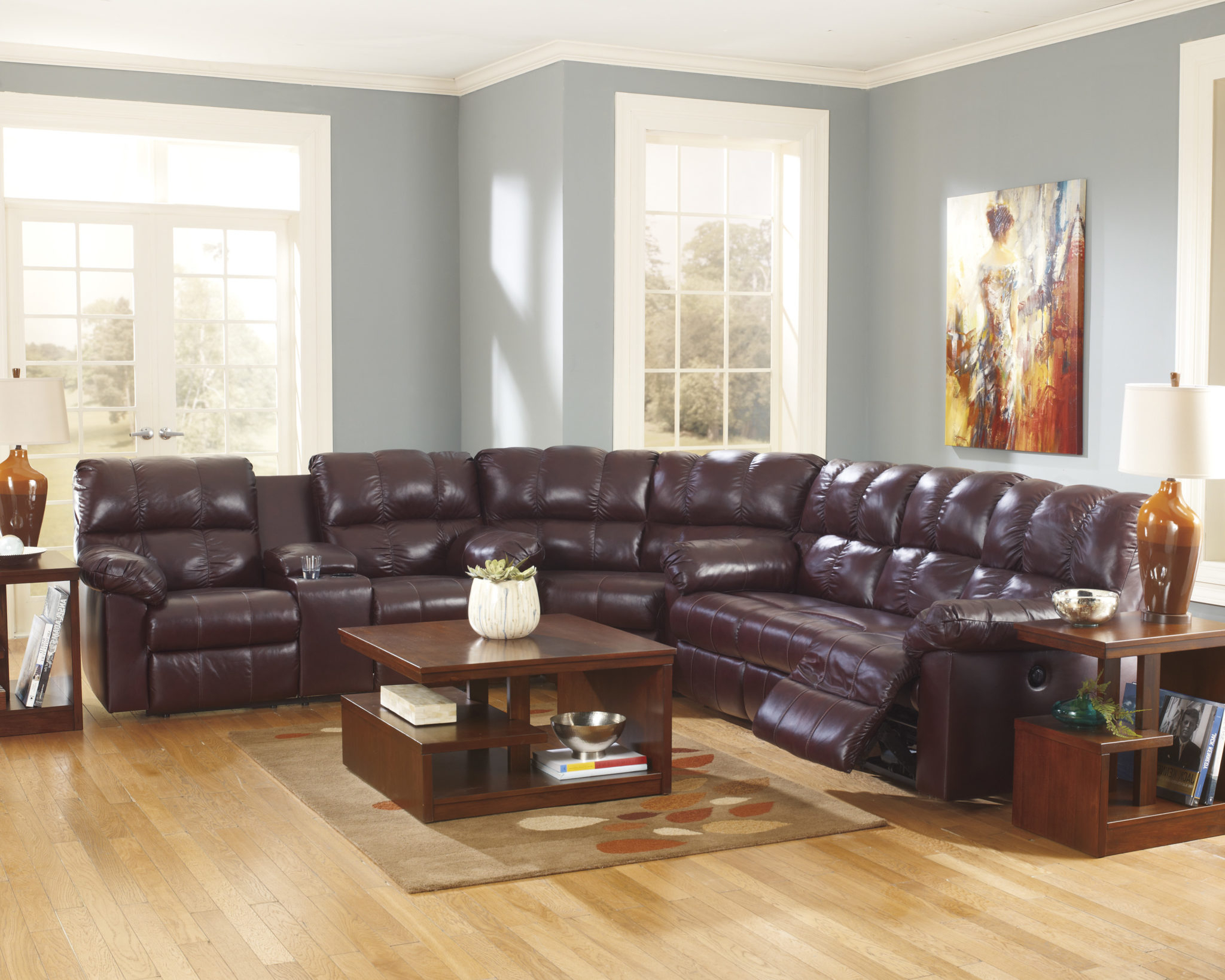 Beautiful Sectional Power Reclining Sofa – Sofas In Well Known Clyde Grey Leather 3 Piece Power Reclining Sectionals With Pwr Hdrst & Usb (View 14 of 20)