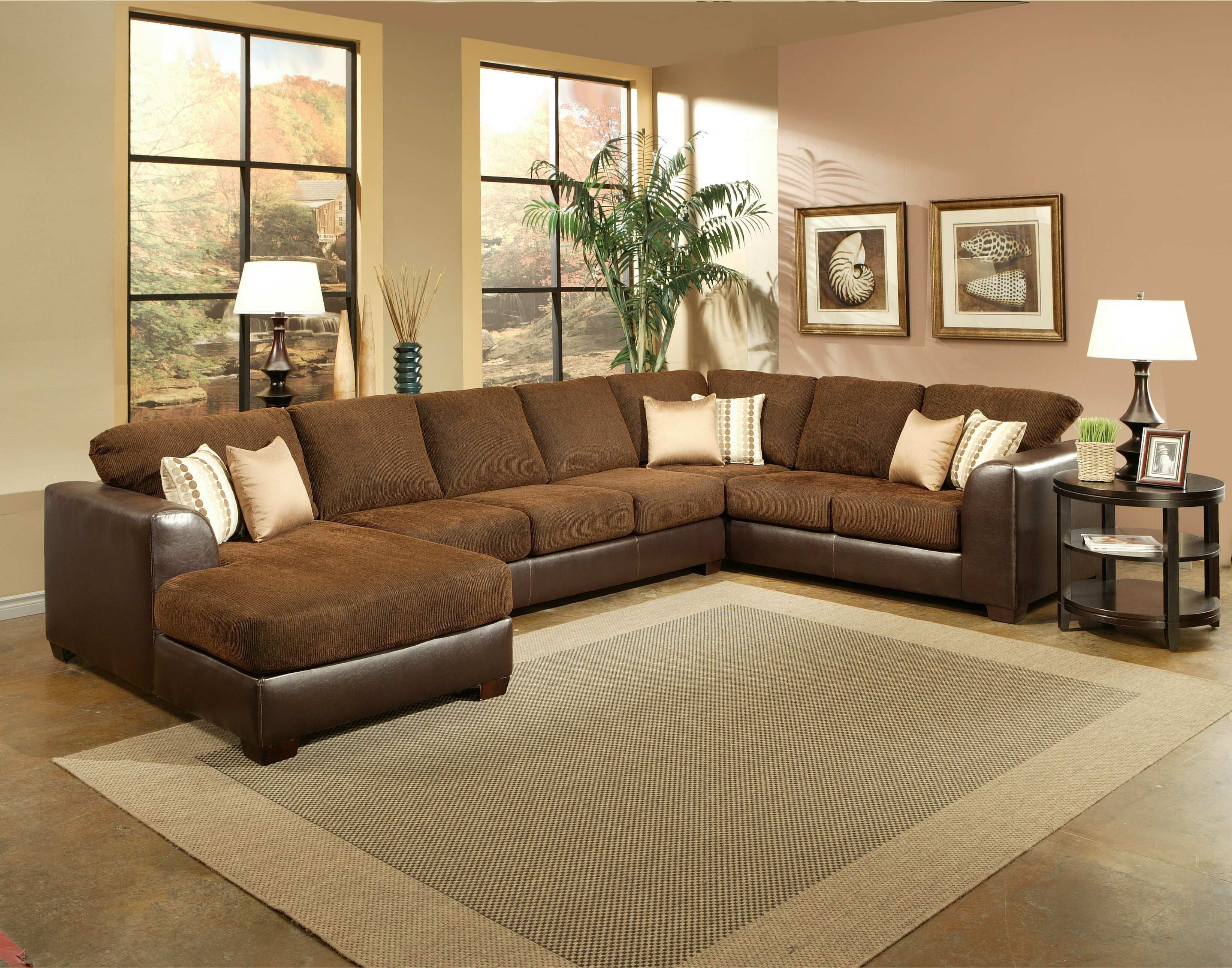 Benchley 3 Pc York Sectional For Popular Sierra Foam Ii 3 Piece Sectionals (Gallery 10 of 20)