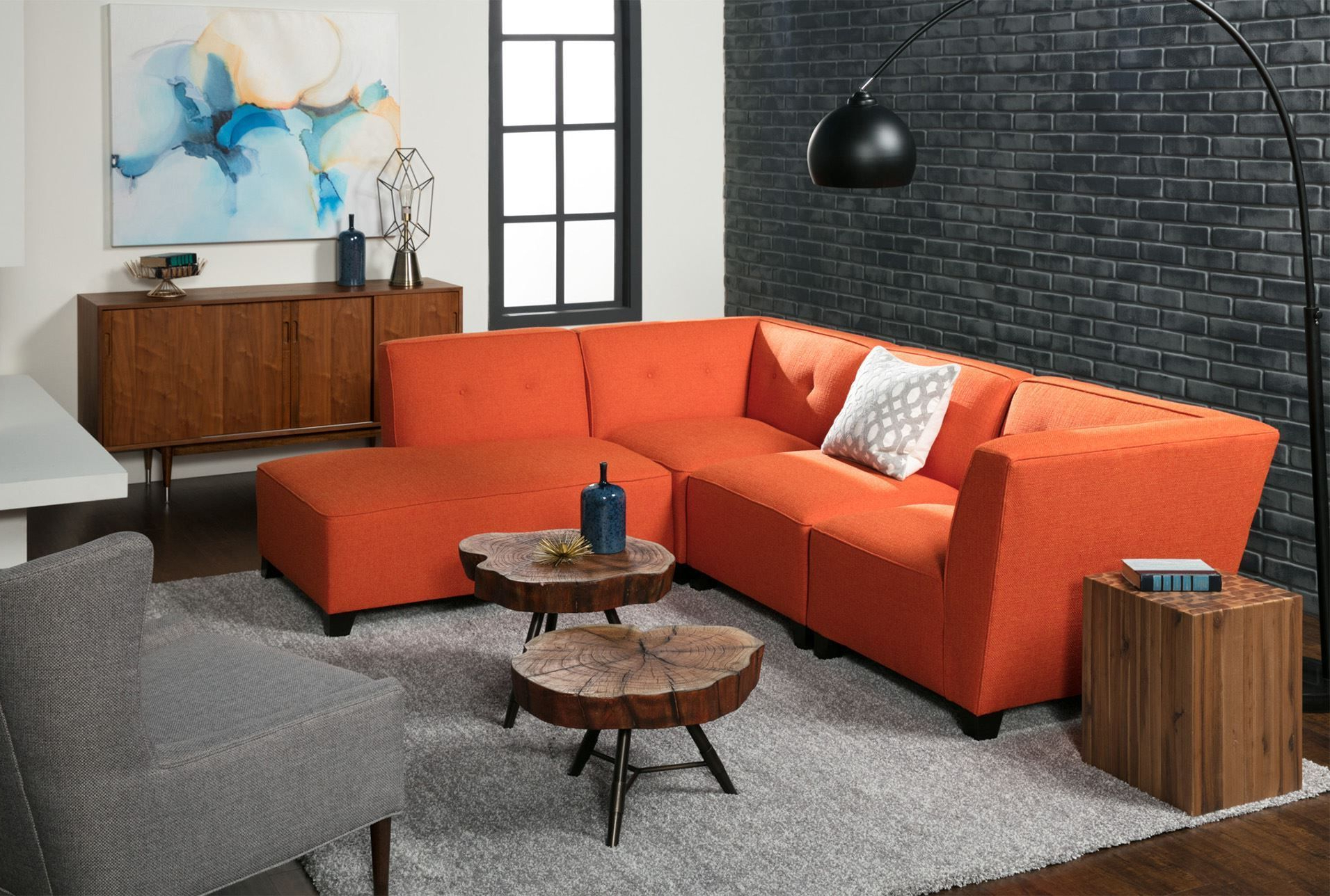 Benton 4 Piece Sectional (Gallery 2 of 20)