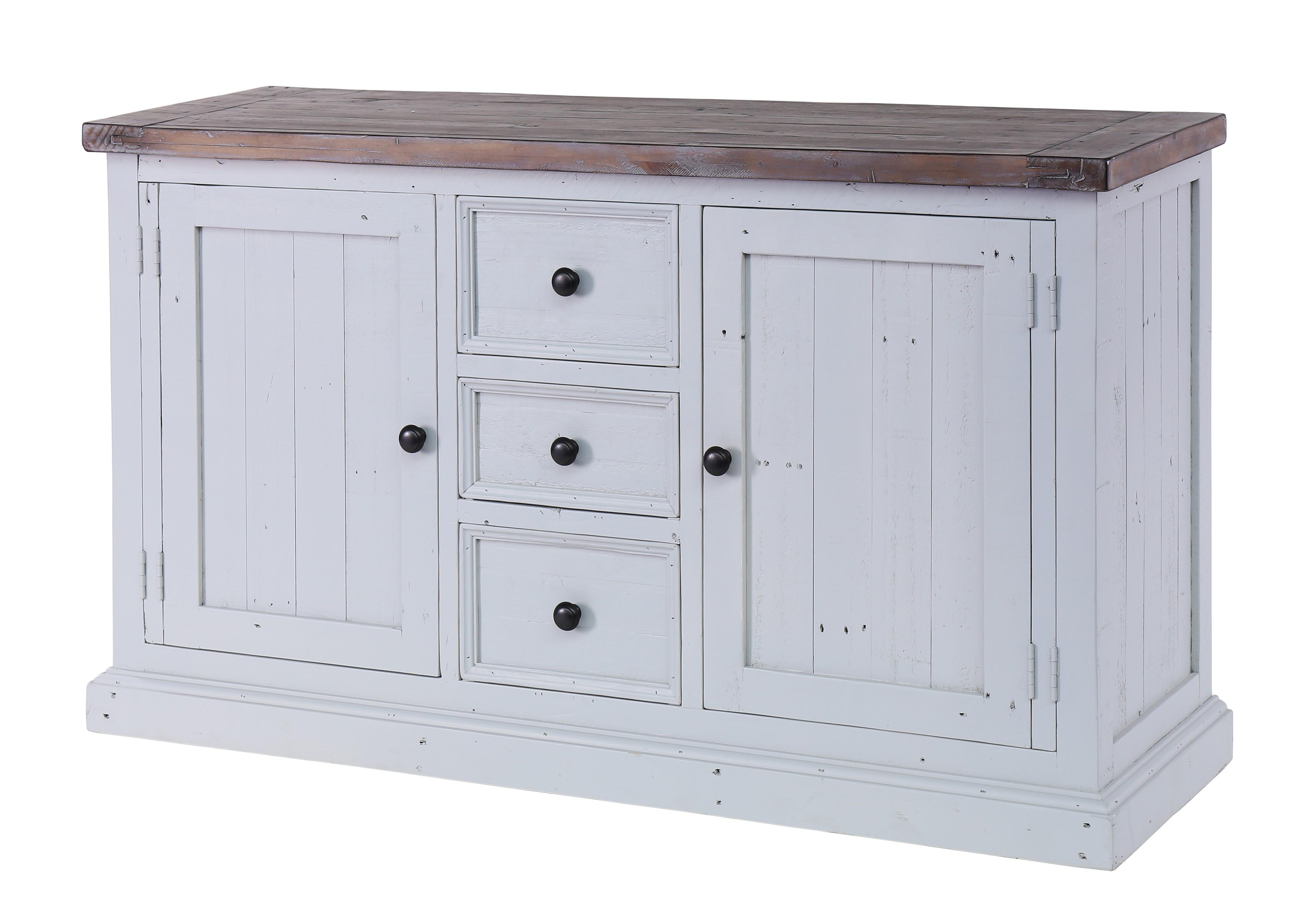 Besp Oak Hampton Wide Sideboard – 2 Doors, 3 Drawers – Style Our Home Regarding Most Recent Aged Pine 3 Drawer 2 Door Sideboards (View 4 of 20)