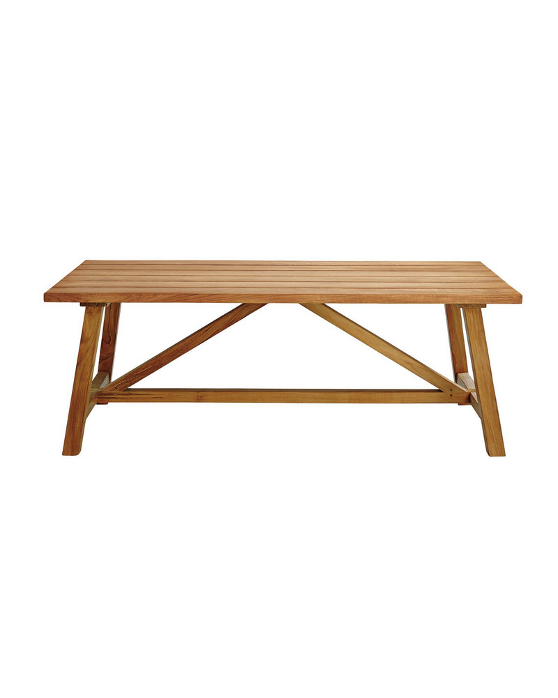Best And Newest Crosby Teak Coffee Table Within Peekaboo Acrylic Coffee Tables (View 2 of 20)