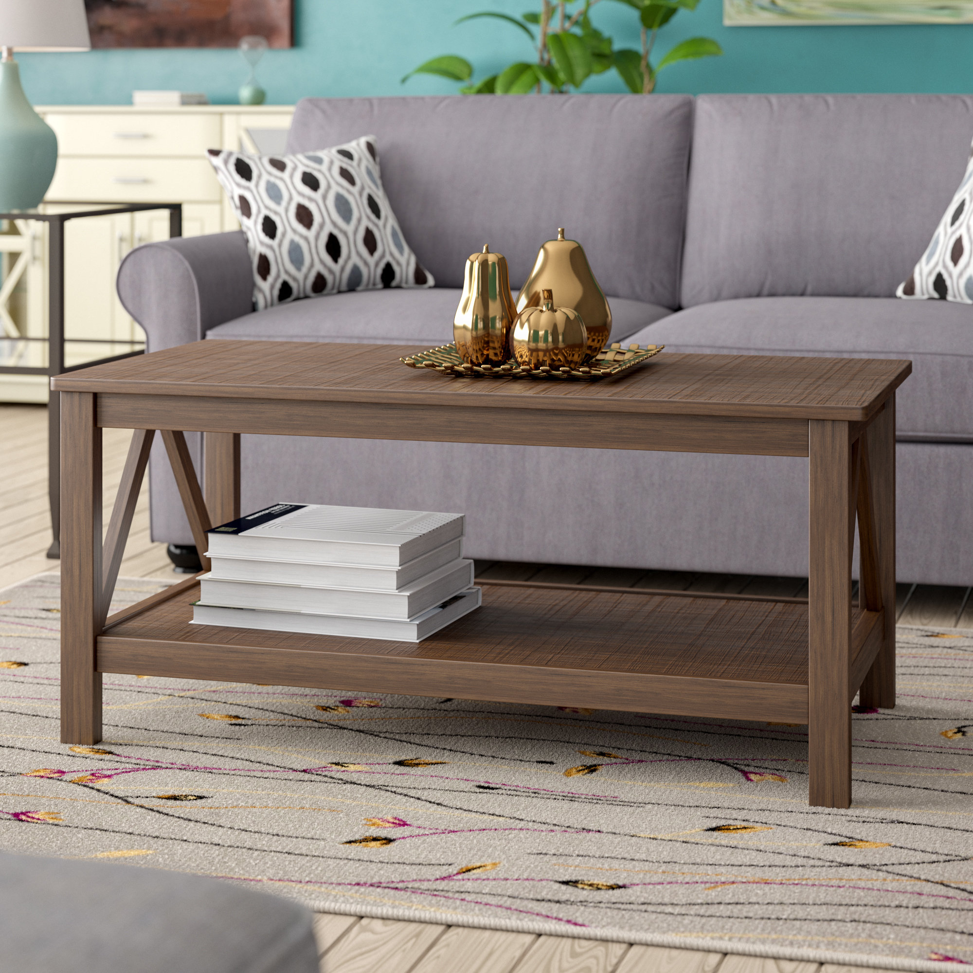 Best And Newest Element Ivory Rectangular Coffee Tables Throughout Andover Mills Soule Coffee Table & Reviews (View 13 of 20)
