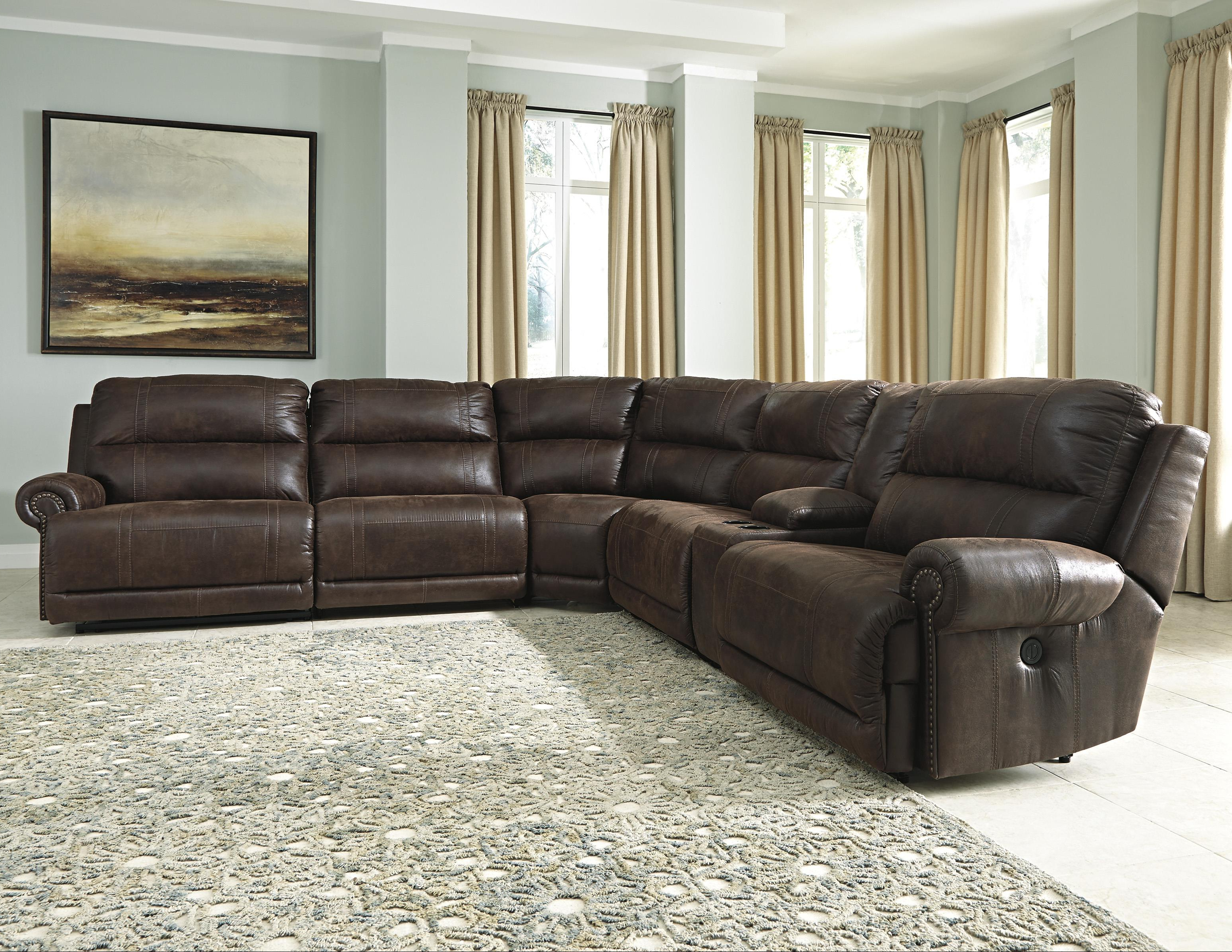 Best And Newest Jackson 6 Piece Power Reclining Sectionals Pertaining To Signature Designashley Luttrell 6 Piece Power Reclining (View 8 of 20)