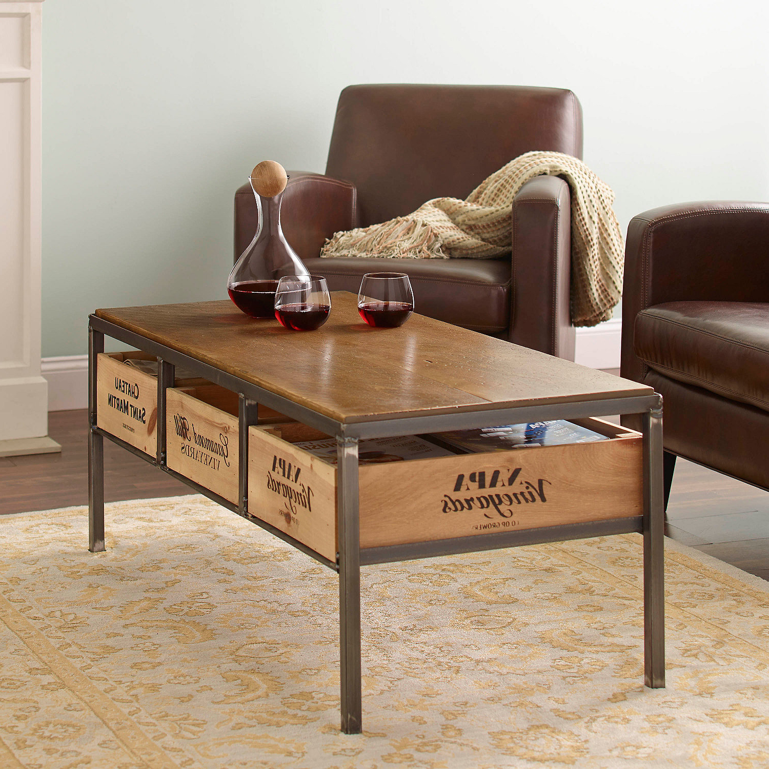 Featured Photo of Vintage Wood Coffee Tables