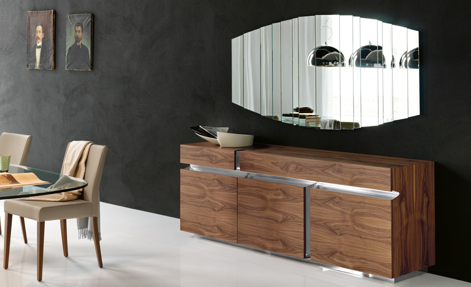 Black Burnt Oak Sideboards Pertaining To Favorite Sideboard – Prisma – Cattelan Italia – Italian Furniture (Gallery 12 of 20)