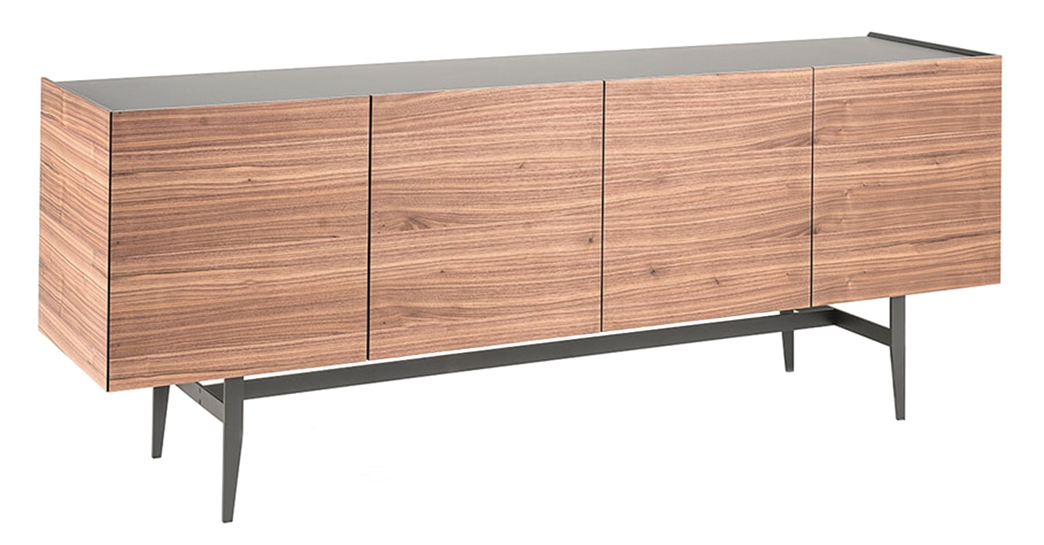 Black Burnt Oak Sideboards With Well Liked Dakota Cattelan Italia Sideboard – Milia Shop (View 6 of 20)