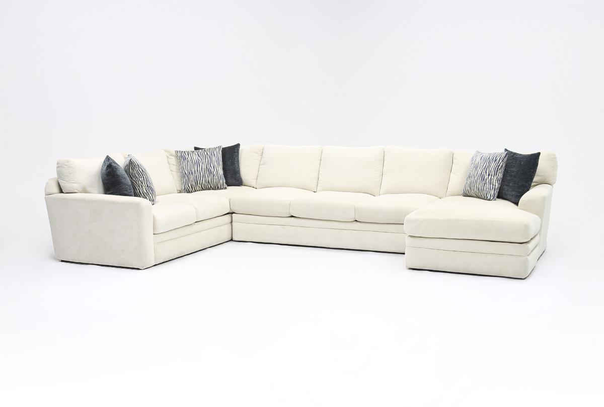 Blaine 3 Piece Sectionals In Widely Used Glamour Ii 3 Piece Sectional (View 20 of 20)