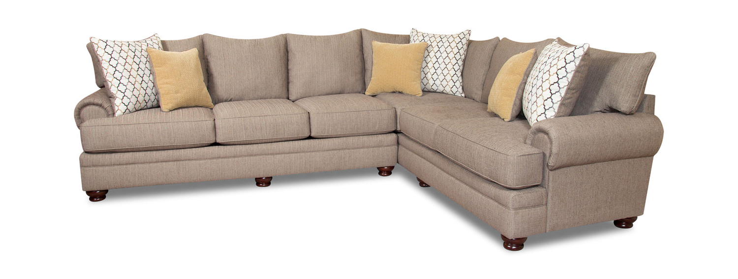 Blaine 3 Piece Sectionals With Regard To Trendy Living Room Sectionals – Leather & Fabric – Dock (View 19 of 20)